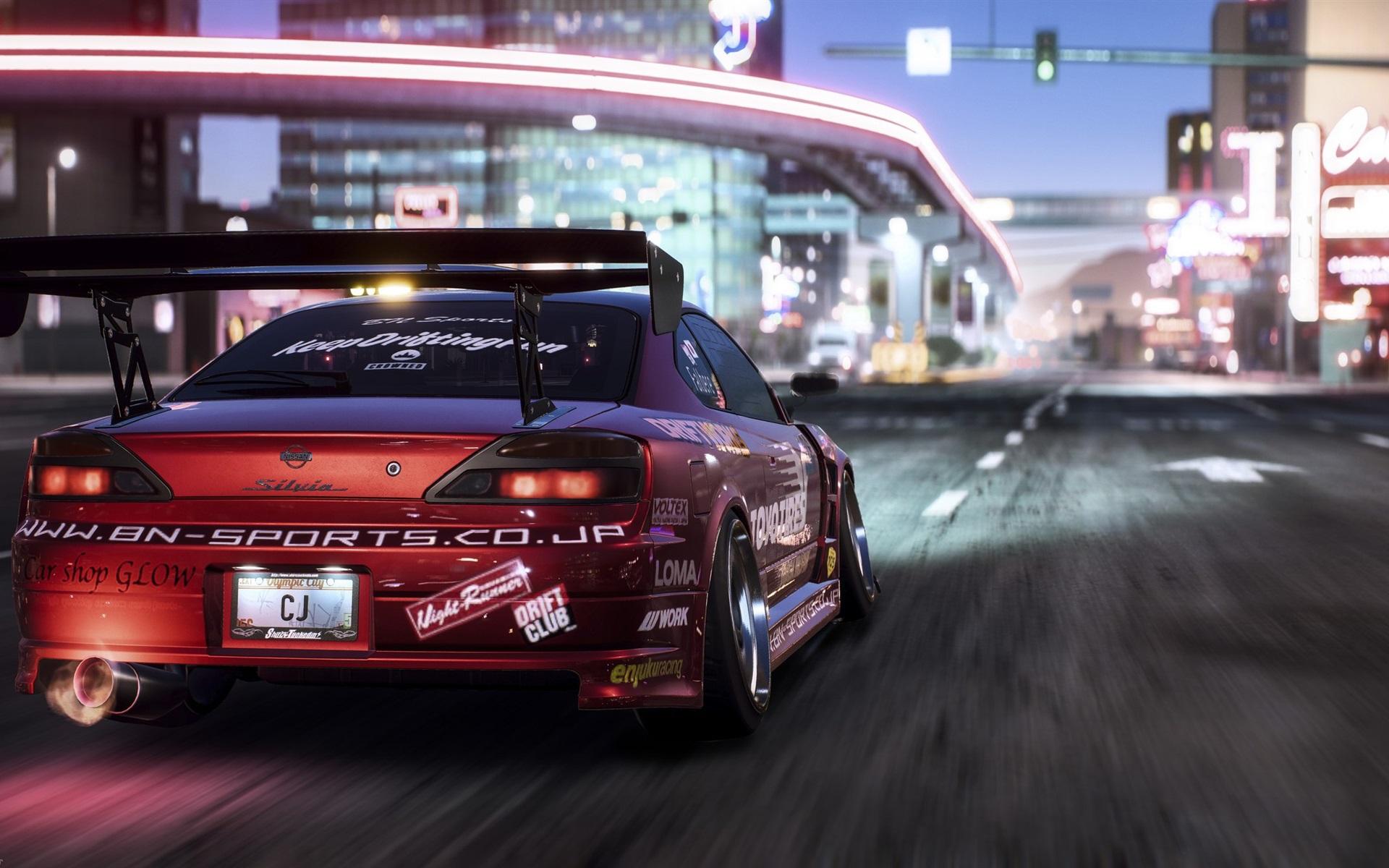 Fonds D Ecran Need For Speed Payback Vue Arriere De La