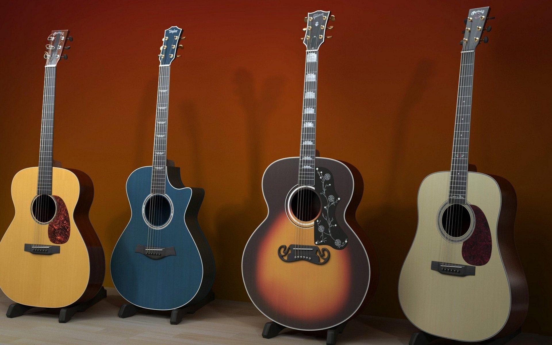 壁紙 いくつかのギター 楽器 1920x1200 Hd 無料のデスクトップの背景