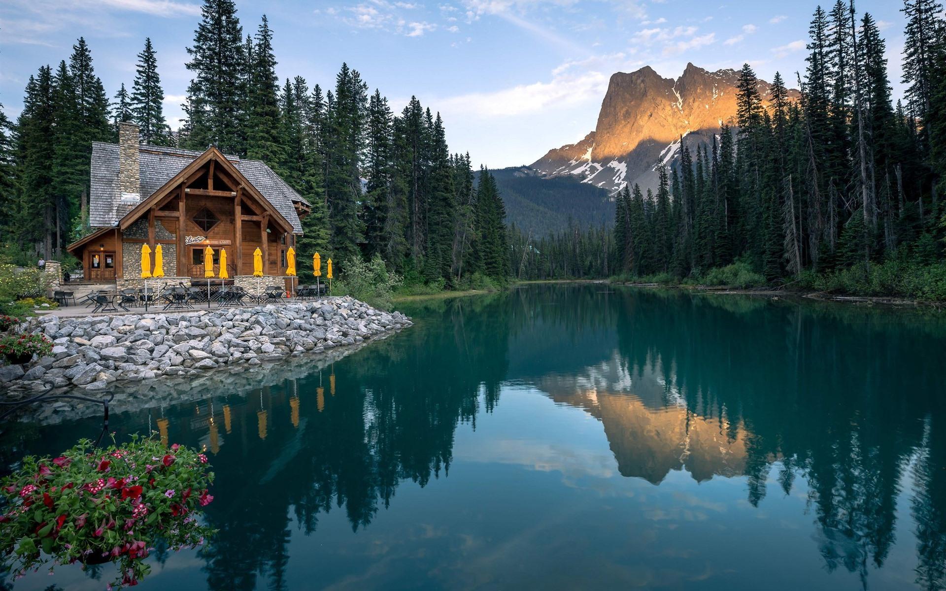 сделать красивую, красивые дома у озера фото том, что каждый