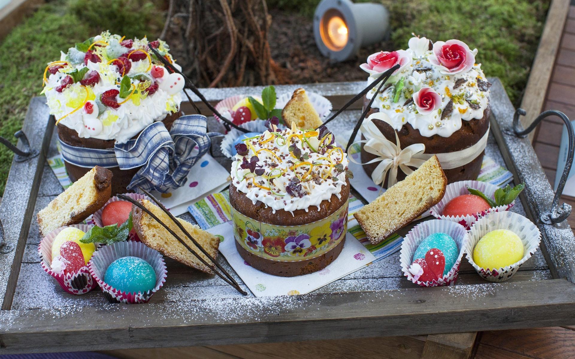Fondos De Pantalla De Chocolates: Fondos De Pantalla Pasteles De Chocolate, Huevos Coloridos