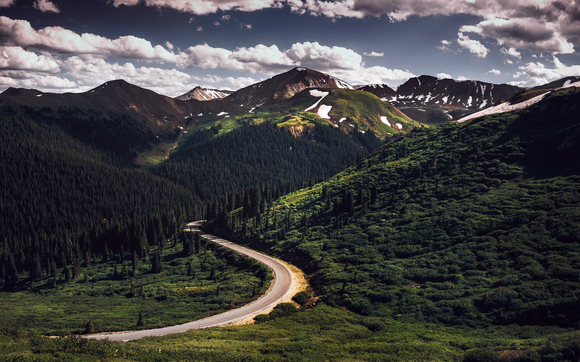 Mountains Road Trees 750x1334 Iphone 8 7 6 6s Wallpaper