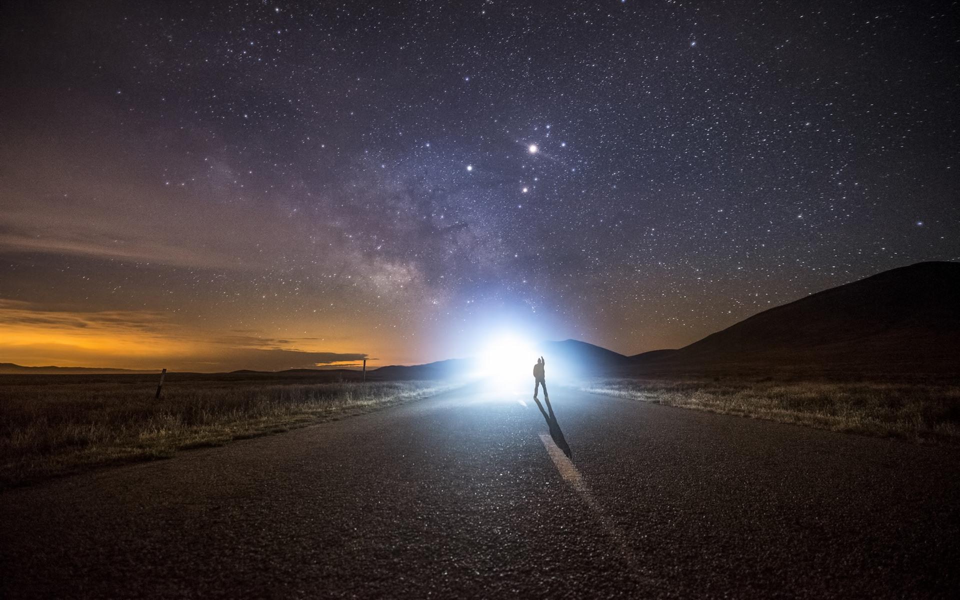 дорога в ночь картинки звезда необходимо помыть