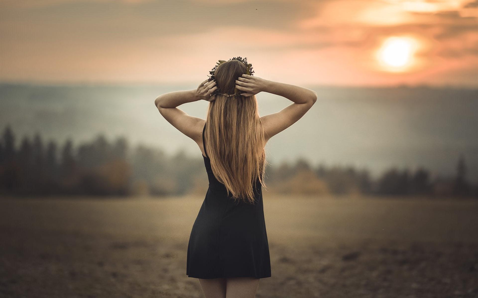 Девушка вид сзади картинки фото