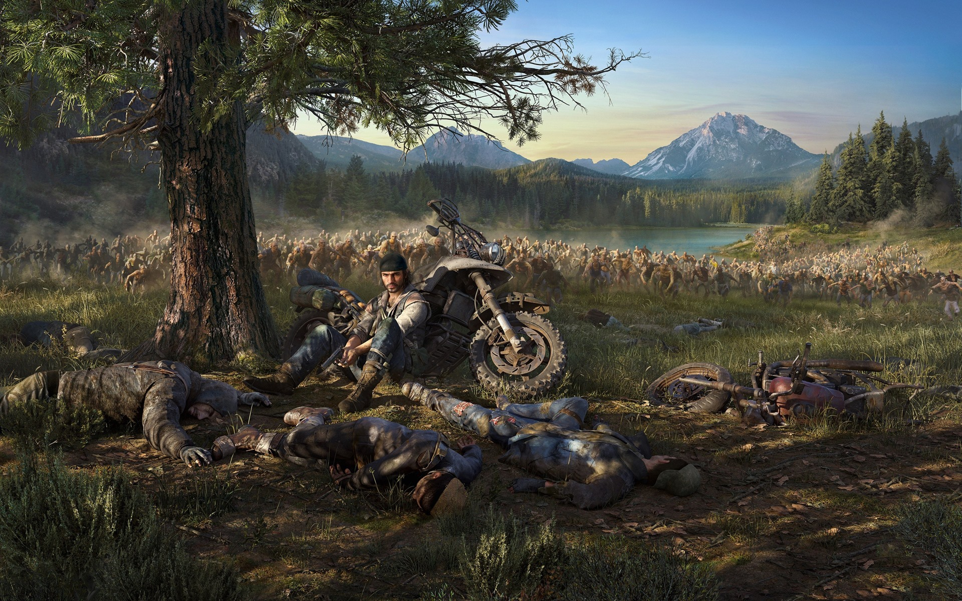 Wallpaper PS4 game, Days Gone 2560x1600 HD Picture, Image