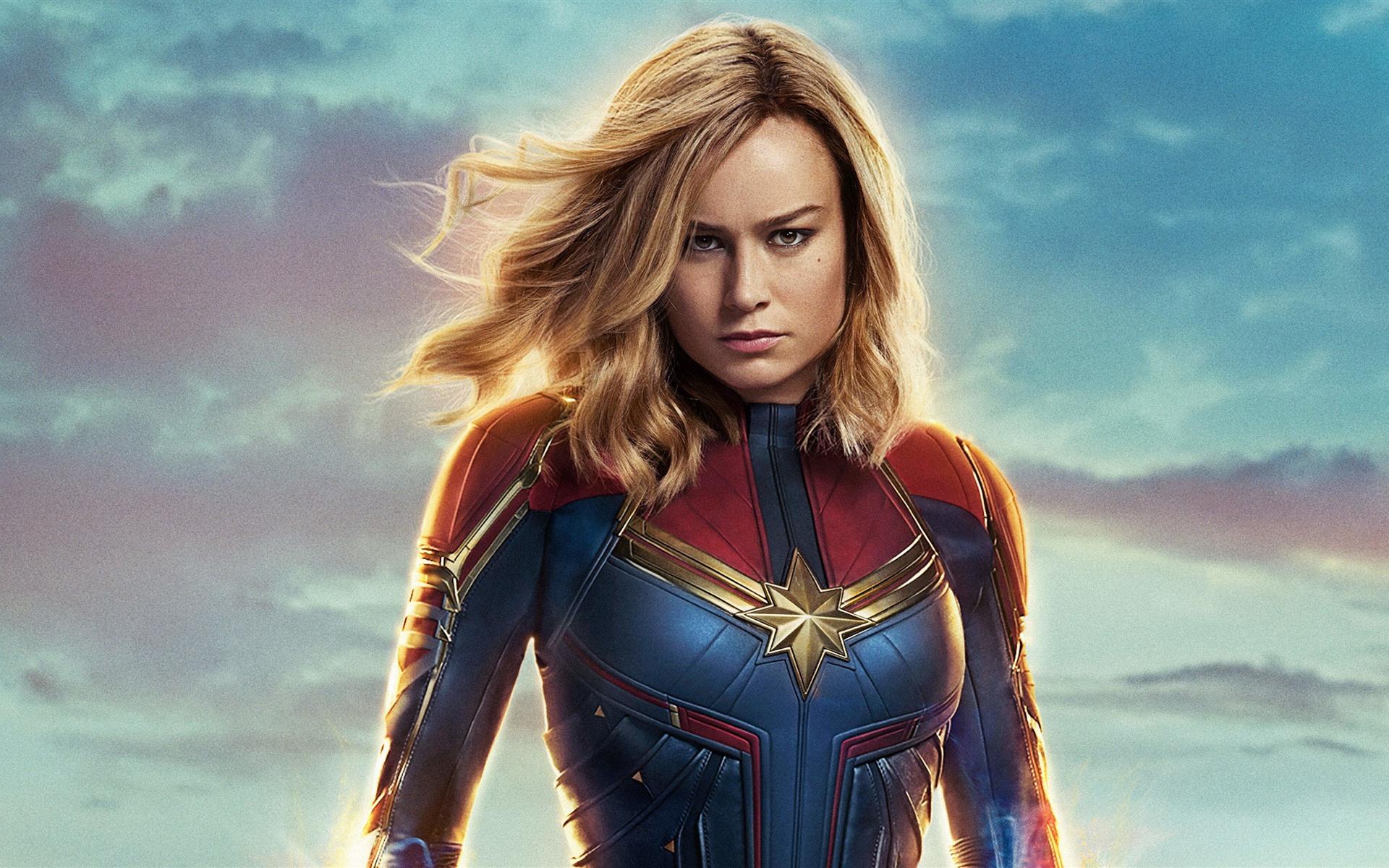 Wallpaper Brie Larson, Captain Marvel 2019 3840x2160 UHD ...