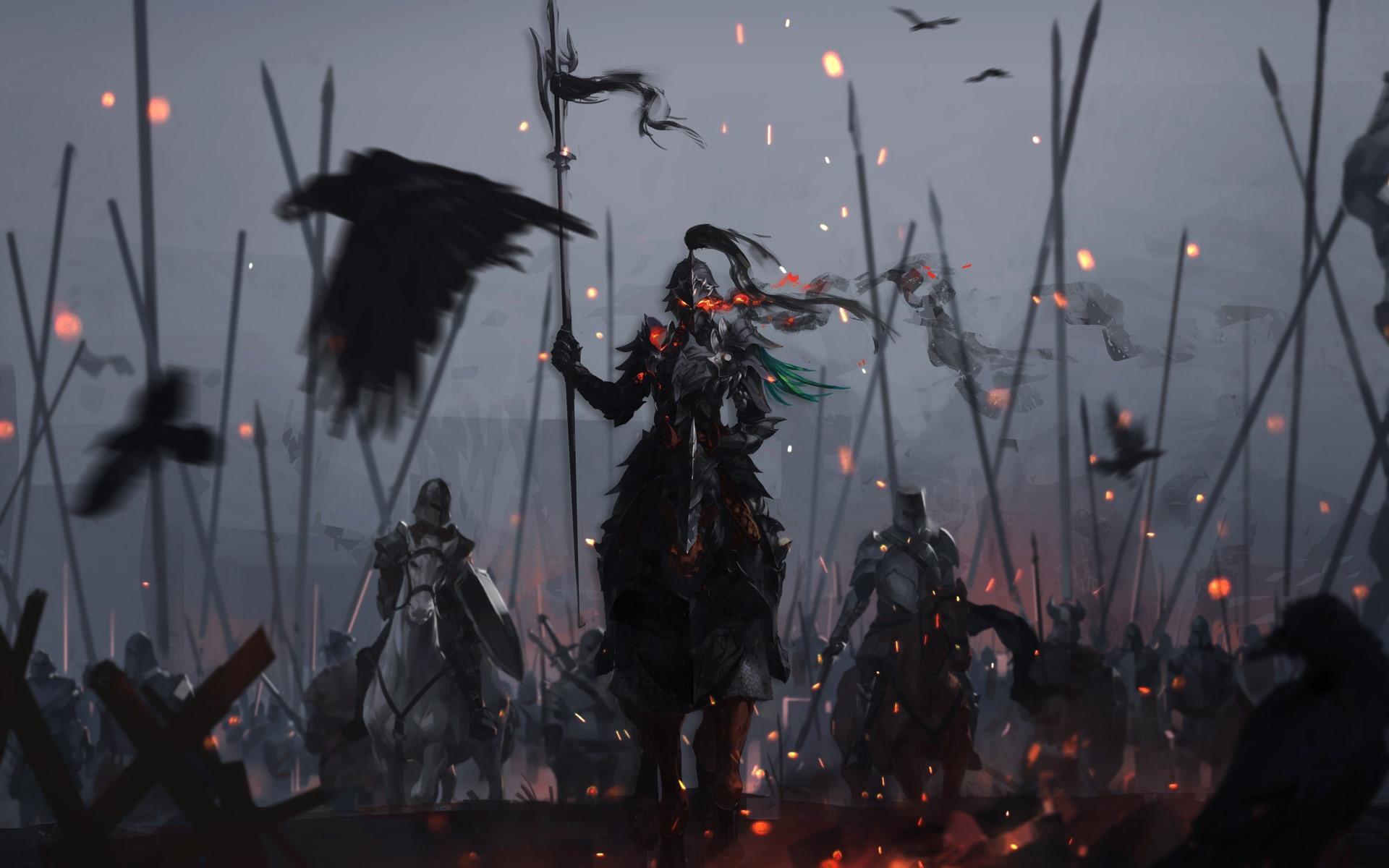 壁纸勇士 盔甲 骑士 战争 艺术图片1920x1200 Hd 高清壁纸 图片 照片