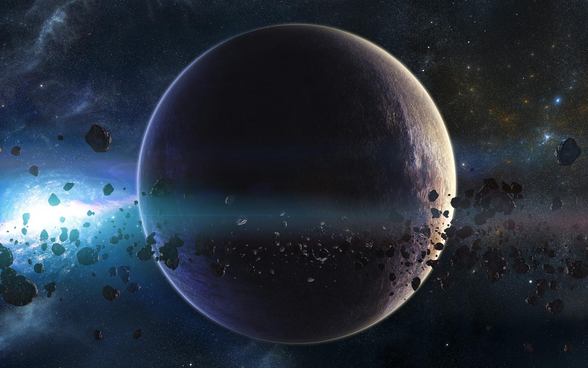 Обои спутник, планеты, катастрофа. Космос foto 13