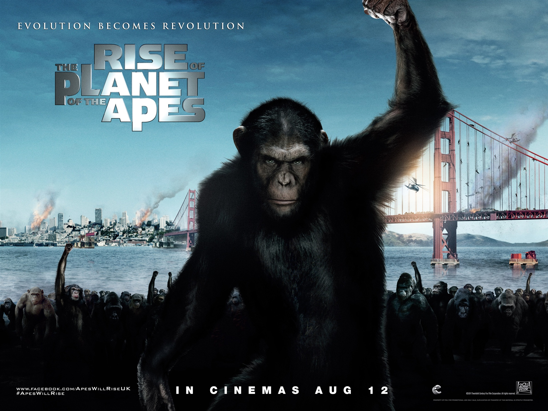 2011 Rise Of The Planet Of The Apes 1080x1920 Iphone 8 7 6