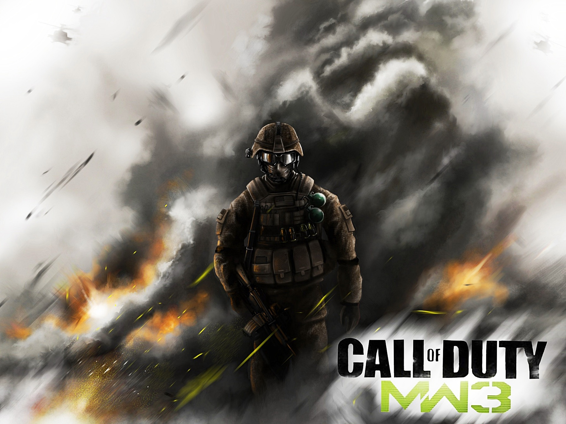 PC Call of Duty jogo: Modern Warfare 3 Papéis de Parede - 1920x1440
