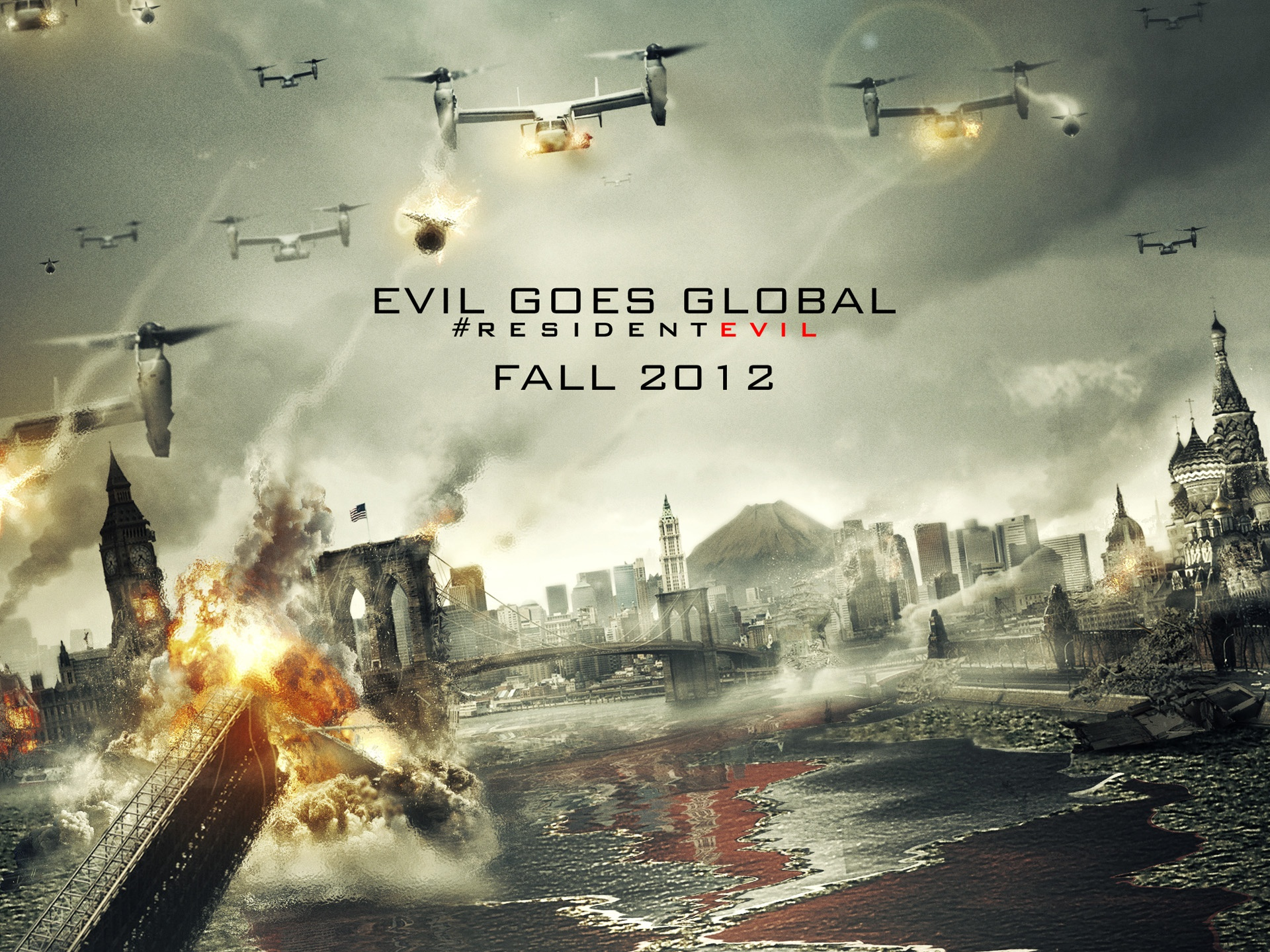Wallpaper Resident Evil Retribution 2012 1920x1440 Hd Picture Image