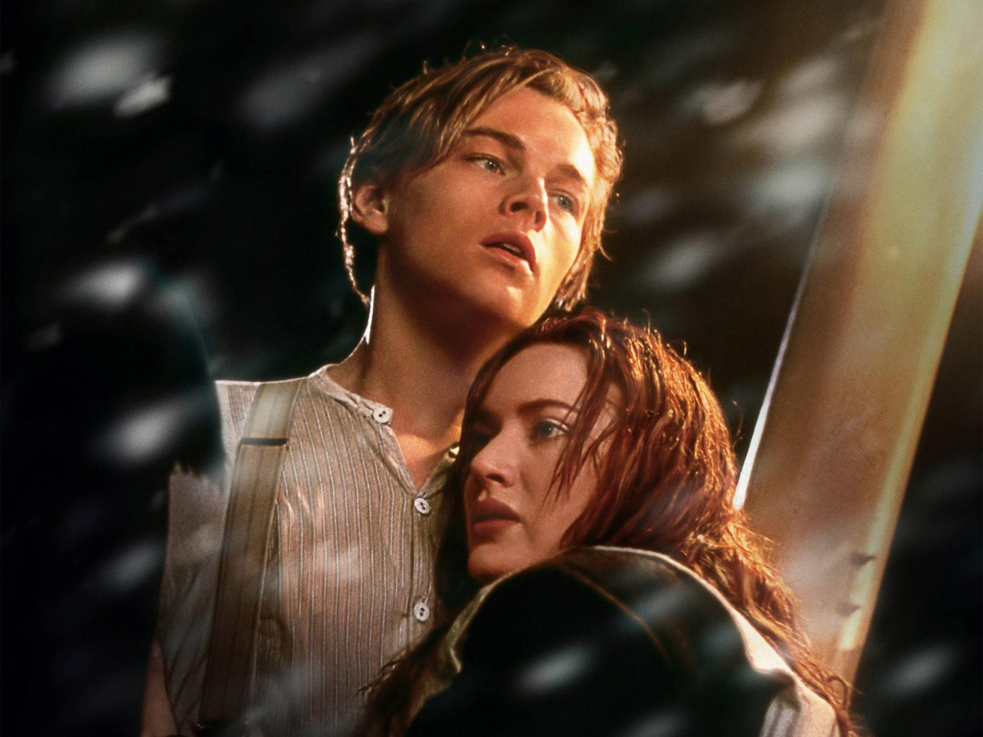 Wallpaper Leonardo Dicaprio And Kate Winslet In Titanic 1920x1440 Hd