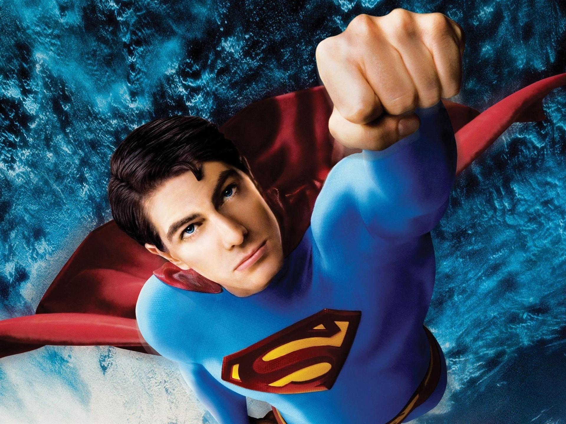 Картинка с суперменами