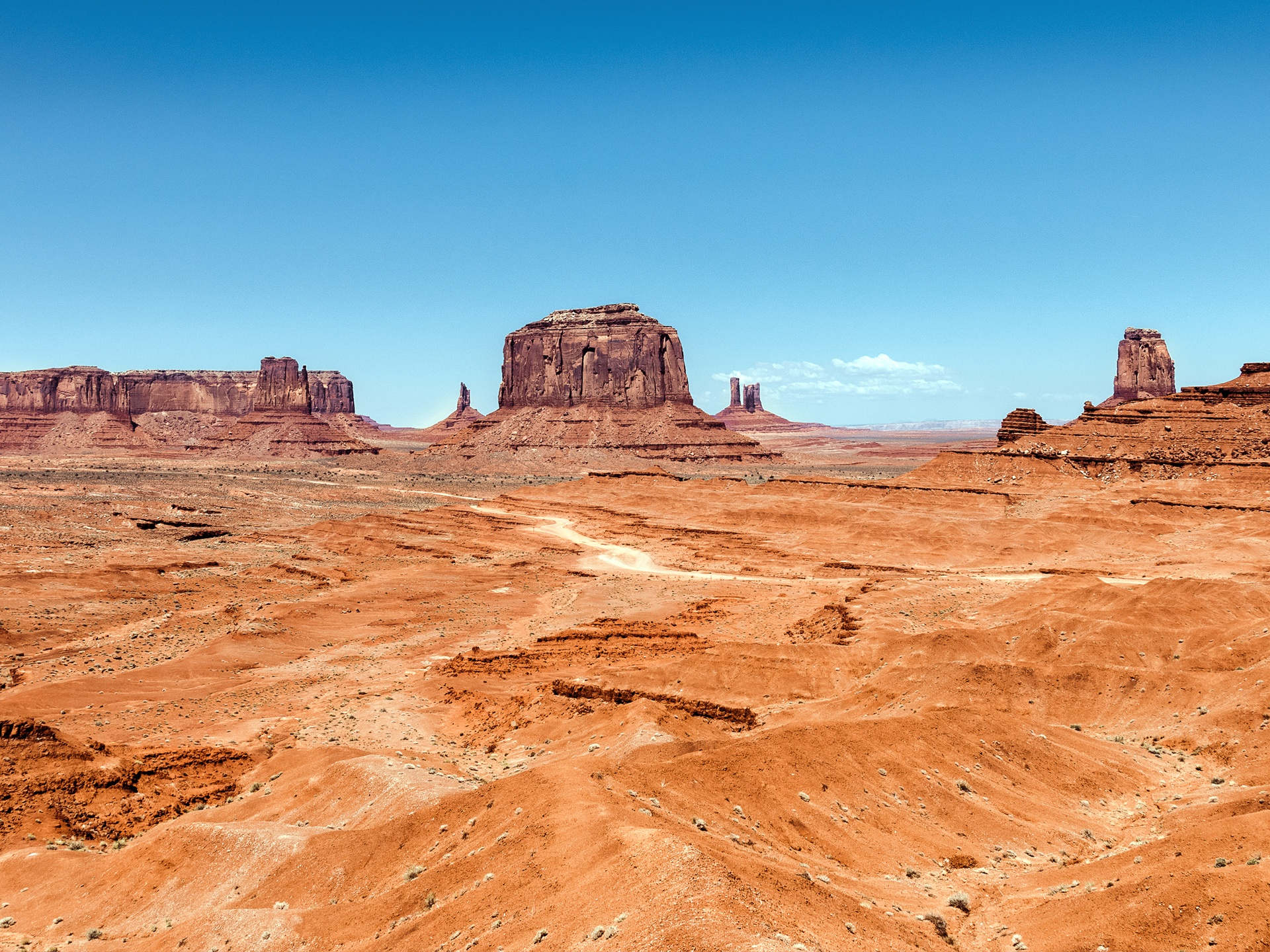 Monument Valley, W&#25...