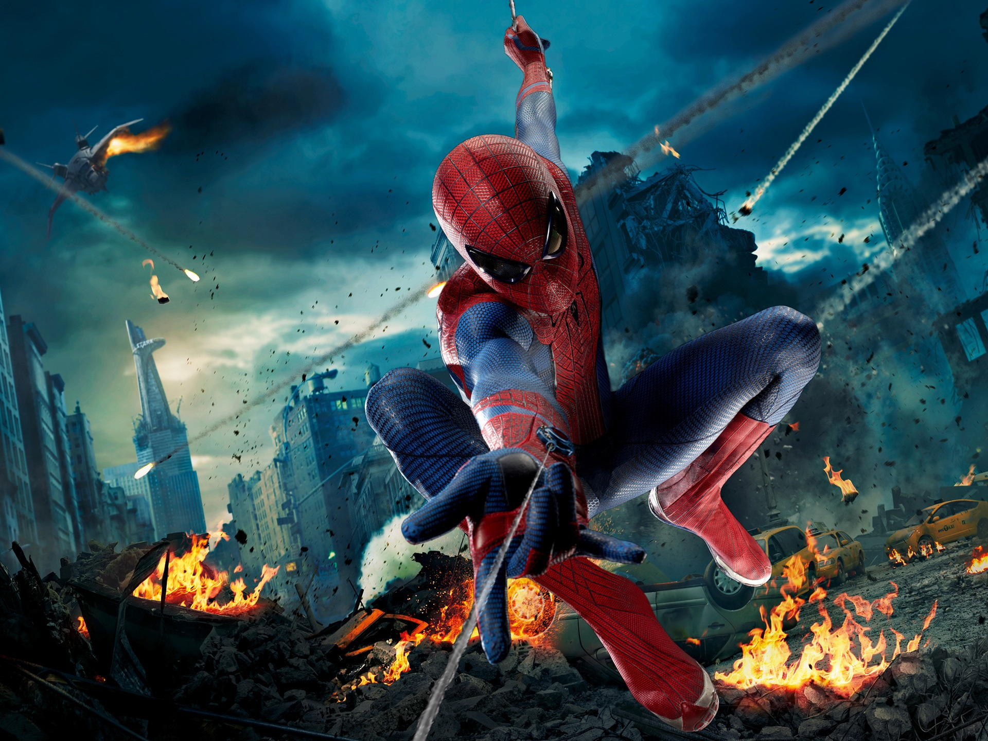 Fonds d 39 cran the avengers spider man 2560x1440 qhd image for Fond ecran qhd