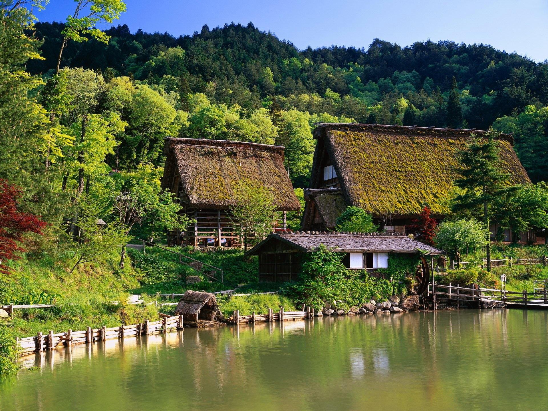 fonds d 39 cran japon maisons ferme maison for t 1920x1440 hd image. Black Bedroom Furniture Sets. Home Design Ideas