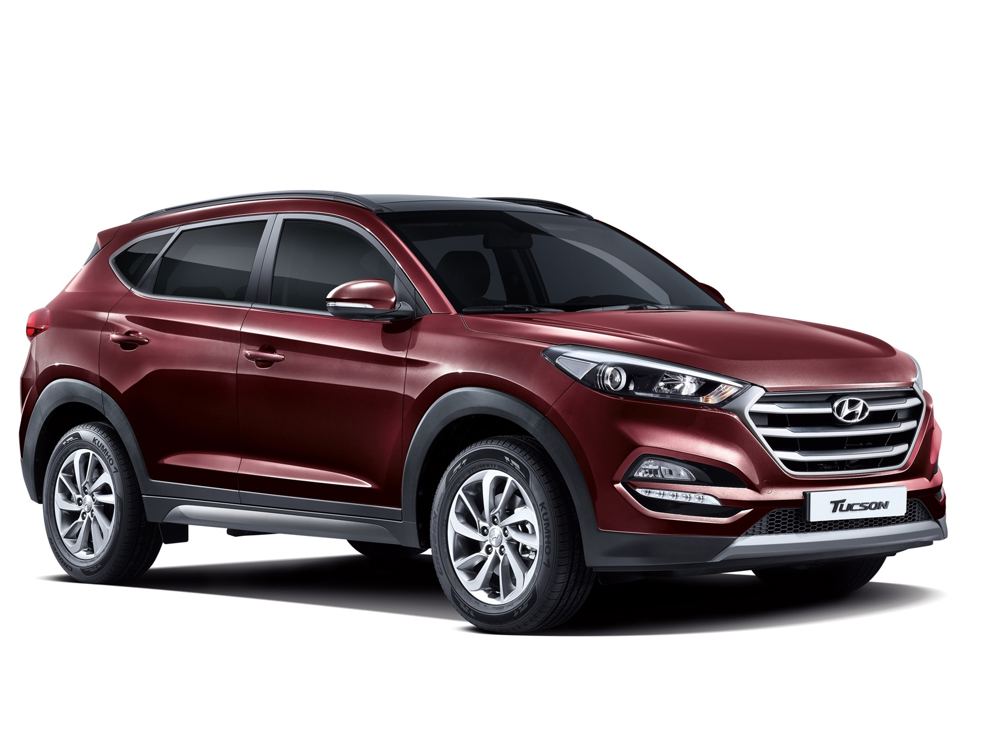 wallpaper 2015 hyundai tucson kr spec red suv car 2560x1600 hd picture image. Black Bedroom Furniture Sets. Home Design Ideas