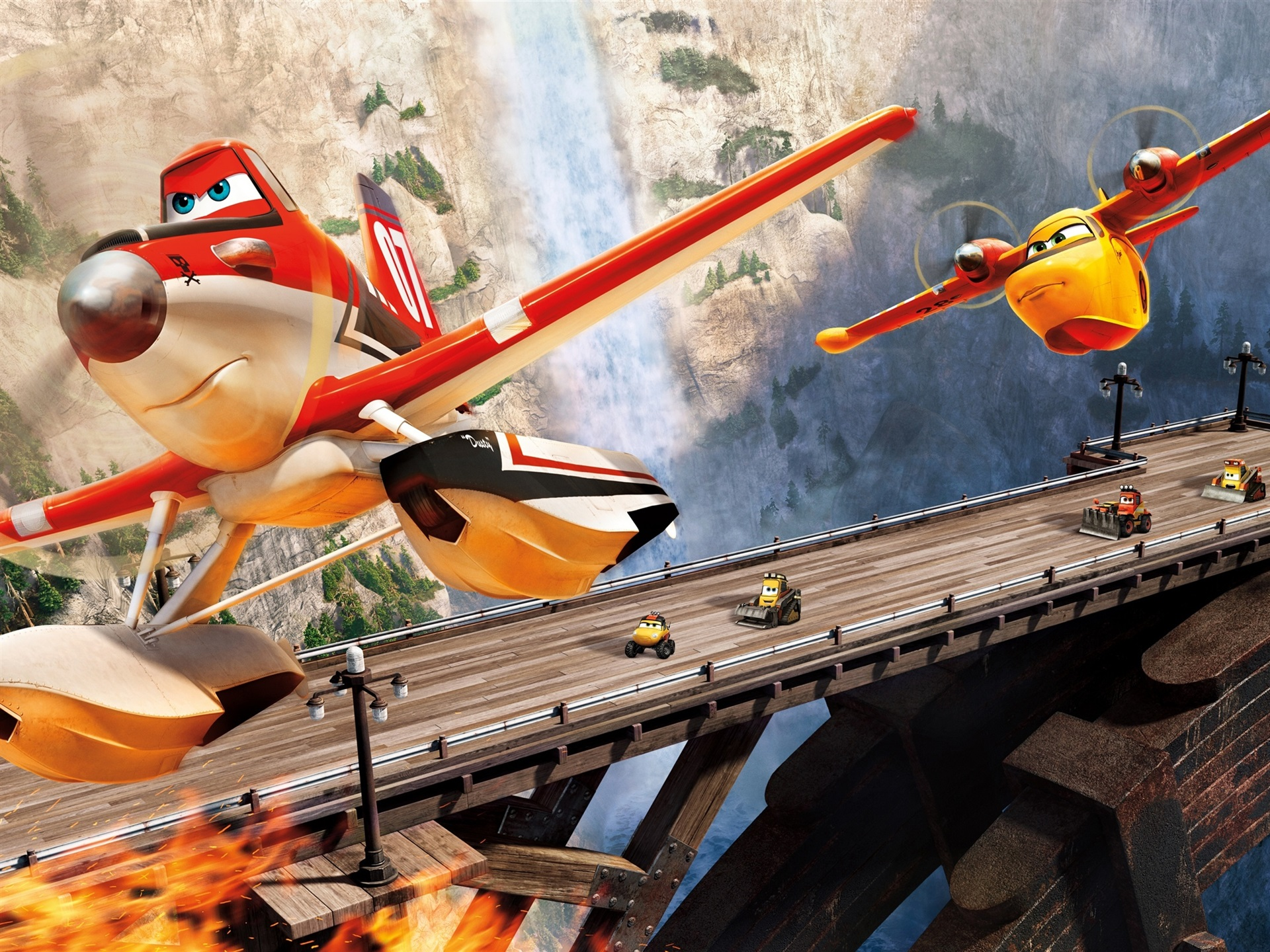Download Wallpaper 1920x1440 Planes: Fire and Rescue HD ...