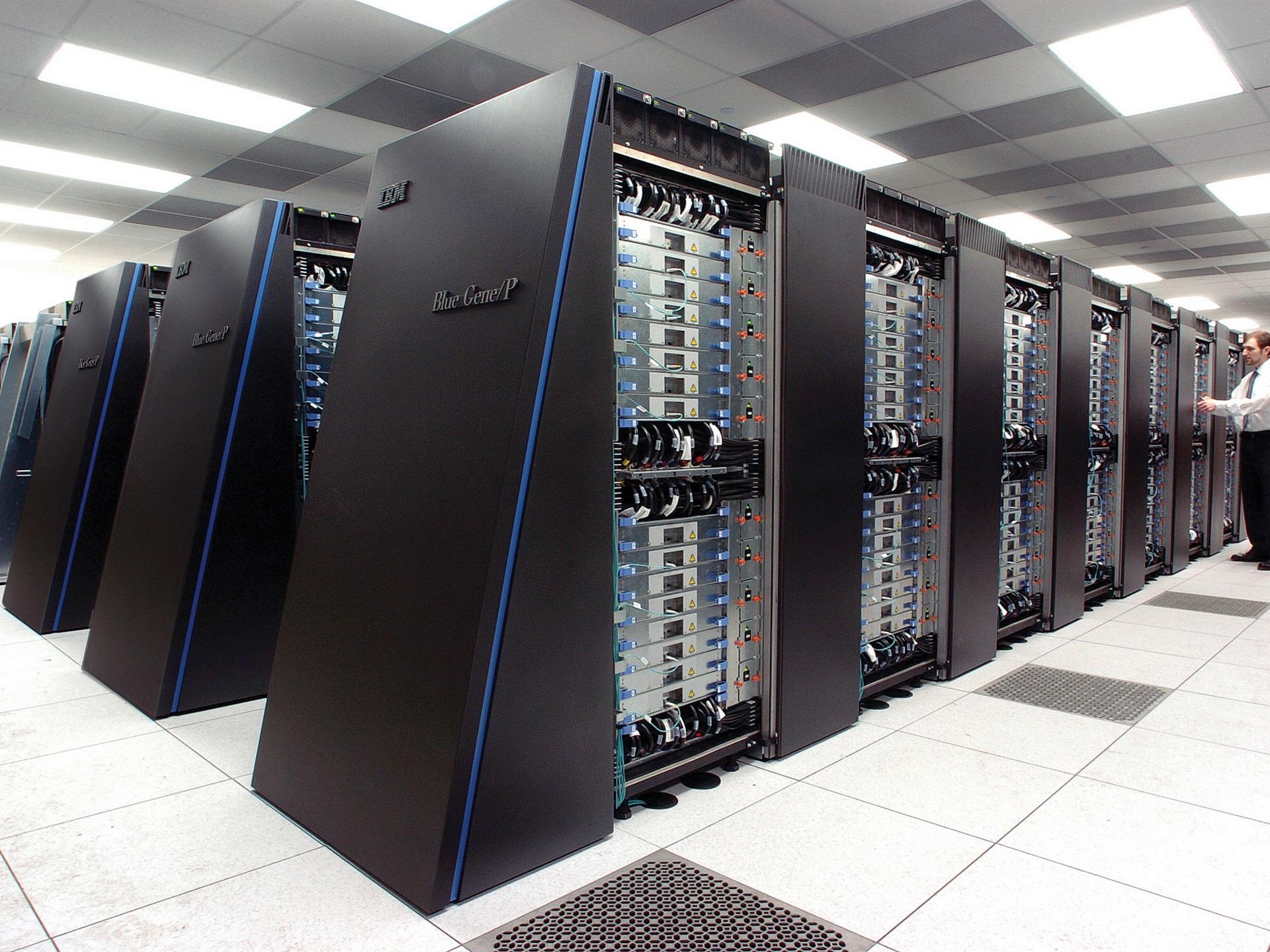 壁紙 Ibmのblue Geneスーパーコンピュータ 1920x1440 Hd 無料の