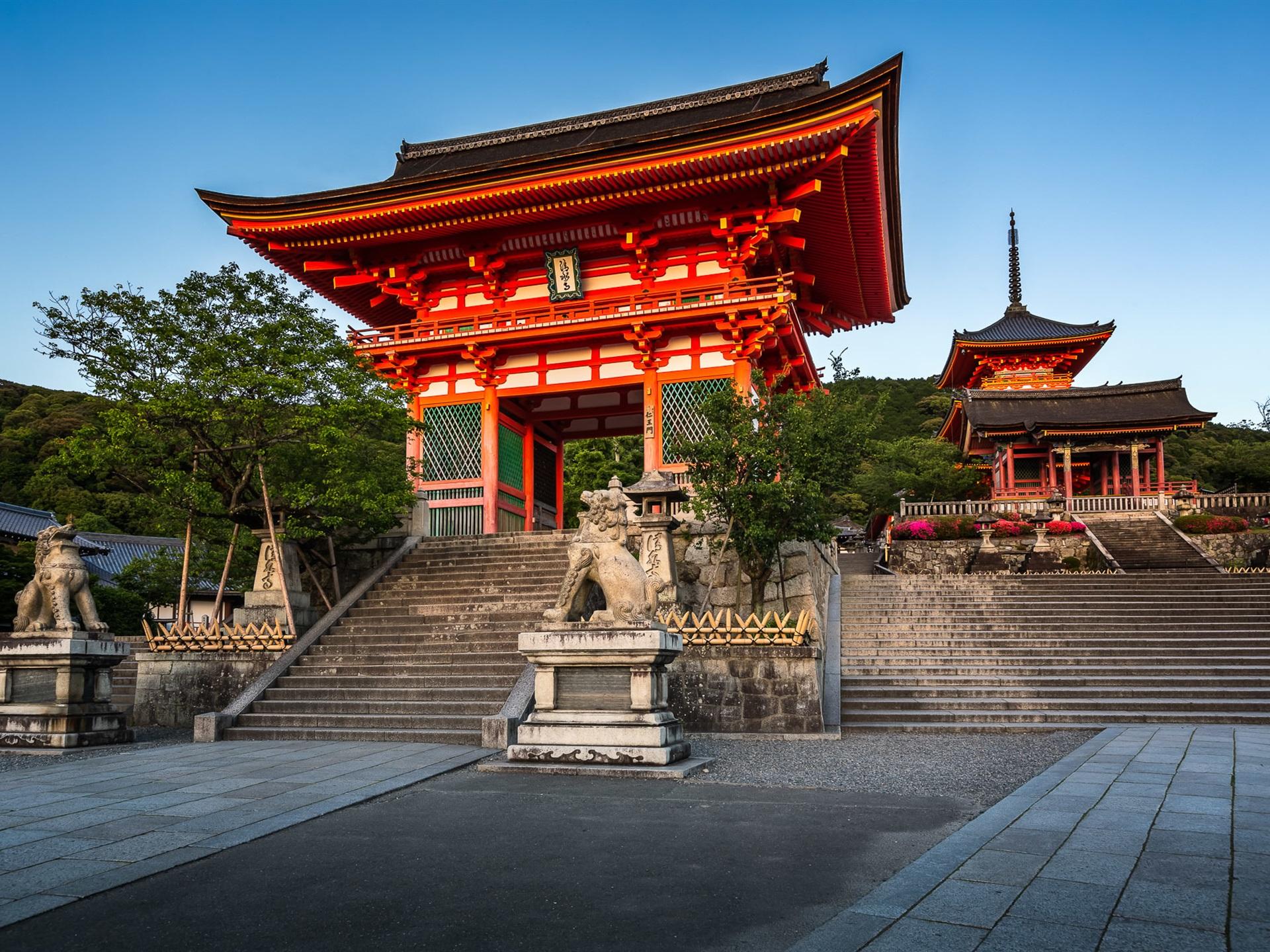 壁紙 京都 日本 清水寺 ゲート 旅行場所 1920x1440 Hd 無料の