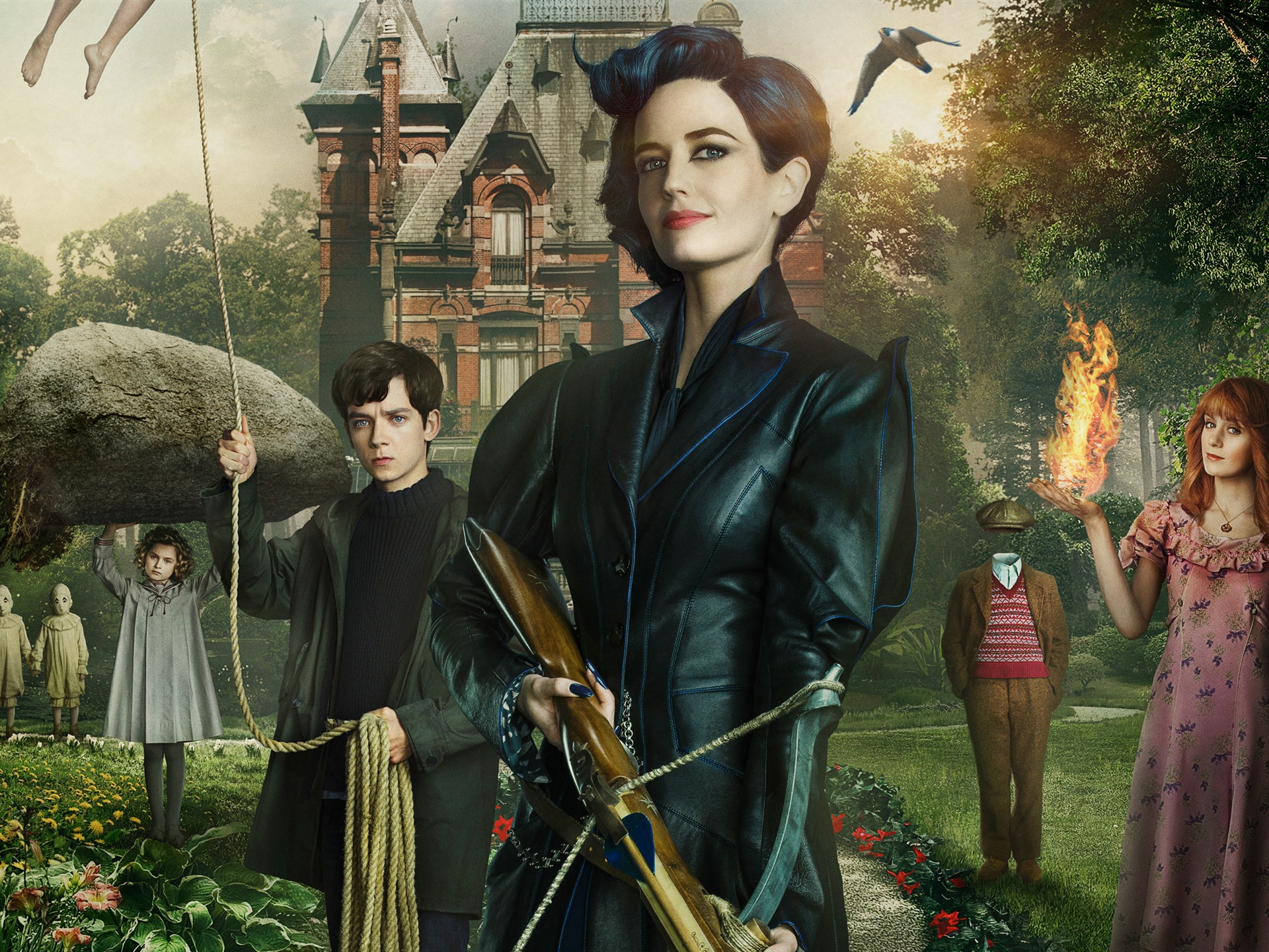 Miss Peregrine S Home For Peculiar Children 2016 750x1334 Iphone 8