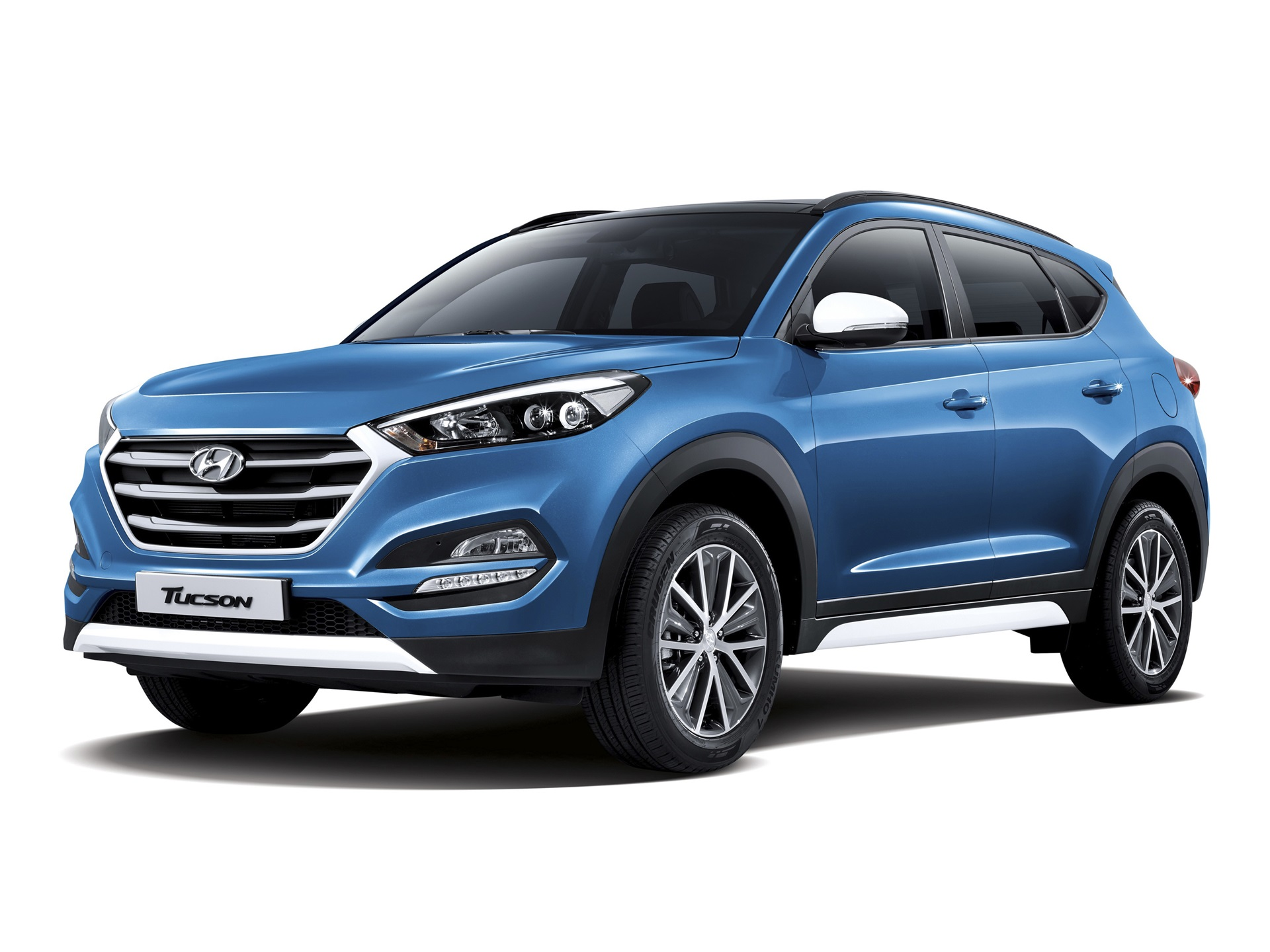 hyundai tucson blau suv auto 3840x2160 uhd 4k hintergrundbilder hd bild. Black Bedroom Furniture Sets. Home Design Ideas