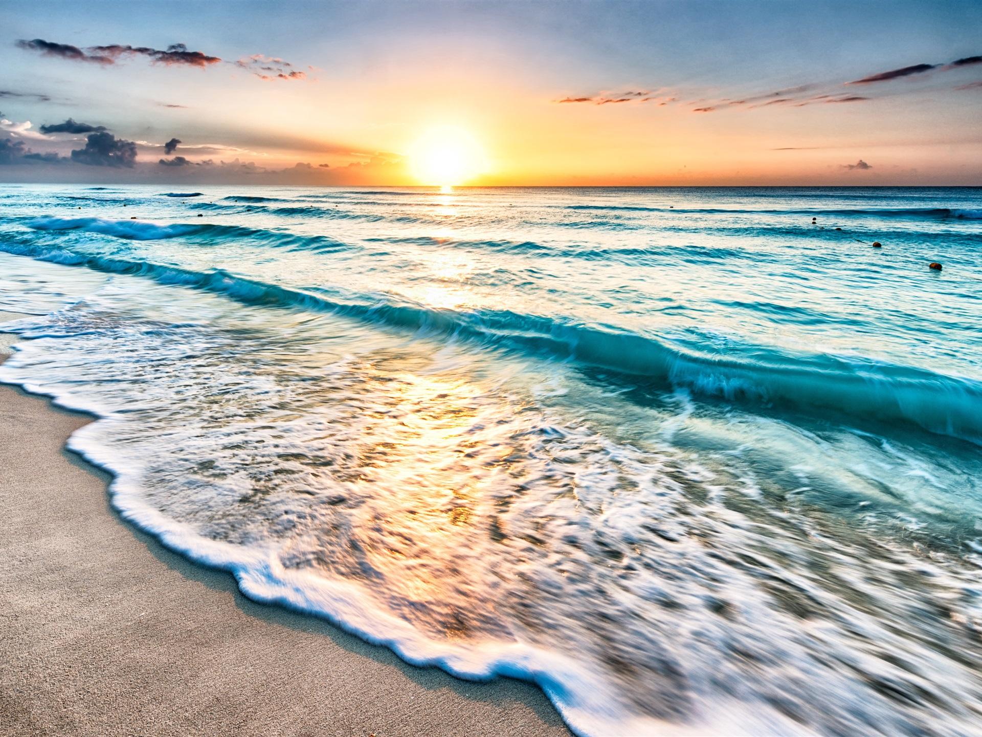Картинки море волны солнце