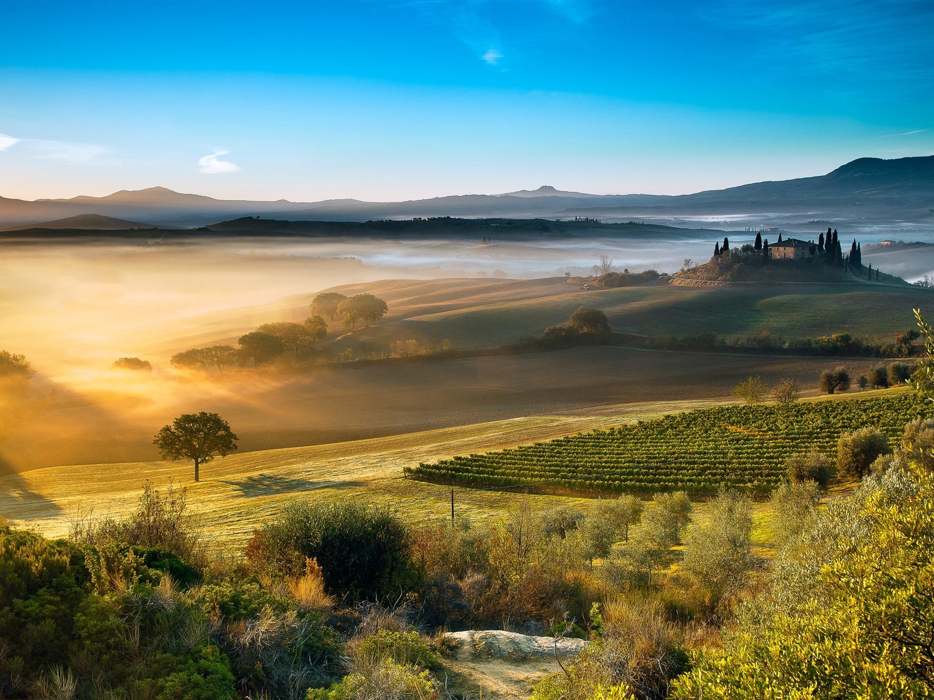 Fonds D Ecran Italie Toscane Belle Campagne 1920x1440 Hd Image