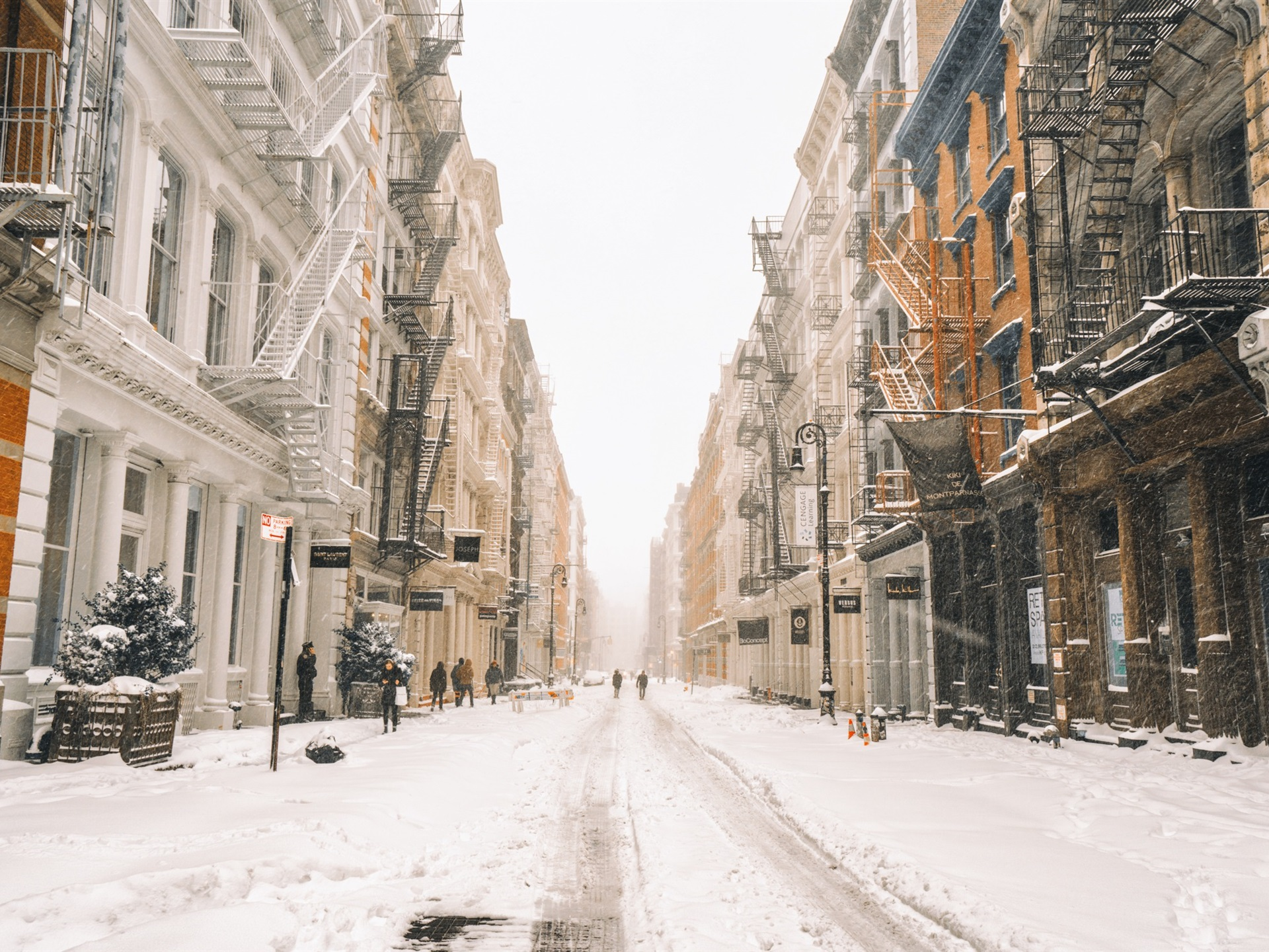 new york snow wallpaper impremedianet