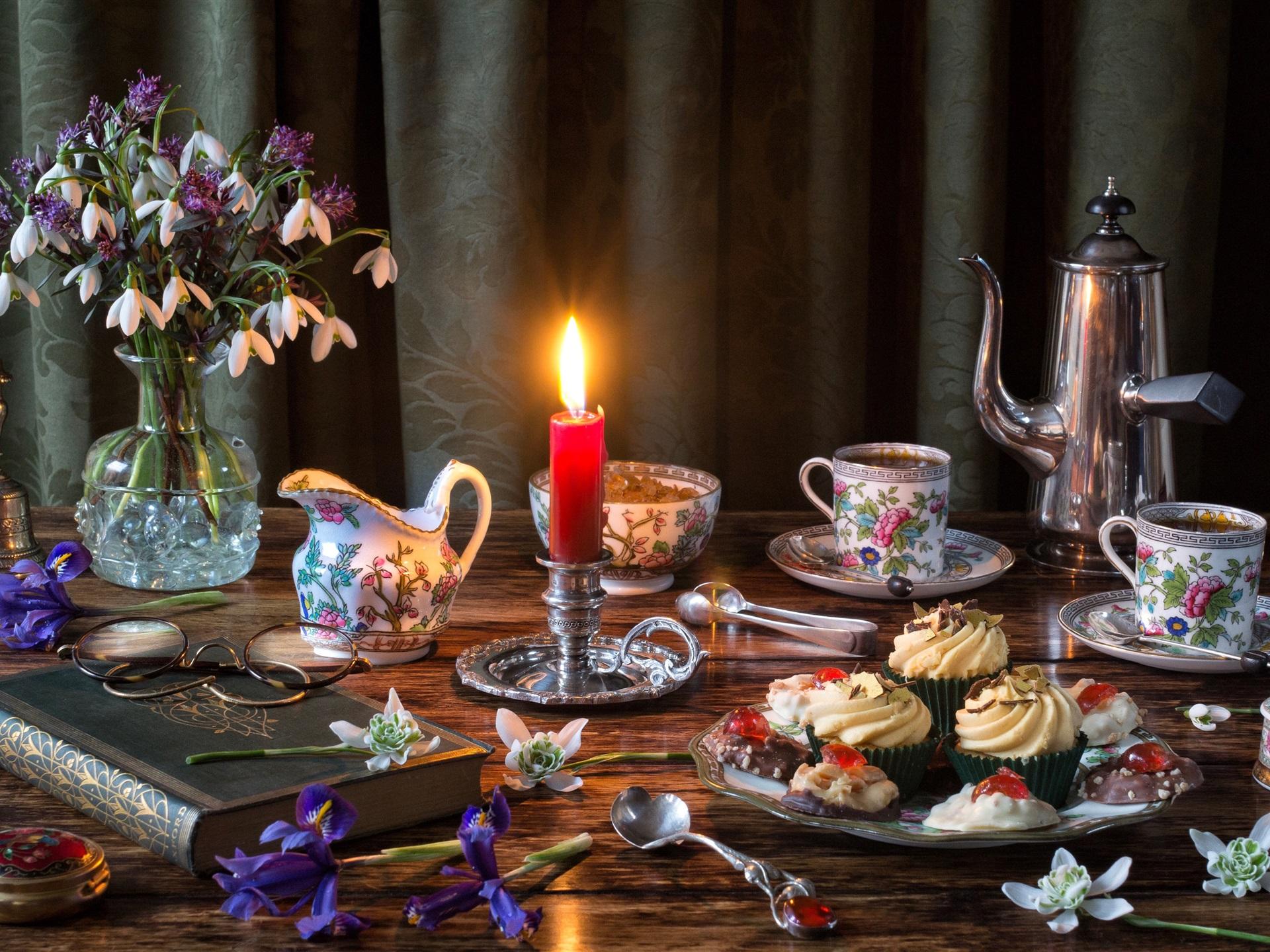 черта вечерний чай картинки доброго вечера одежде могут появиться