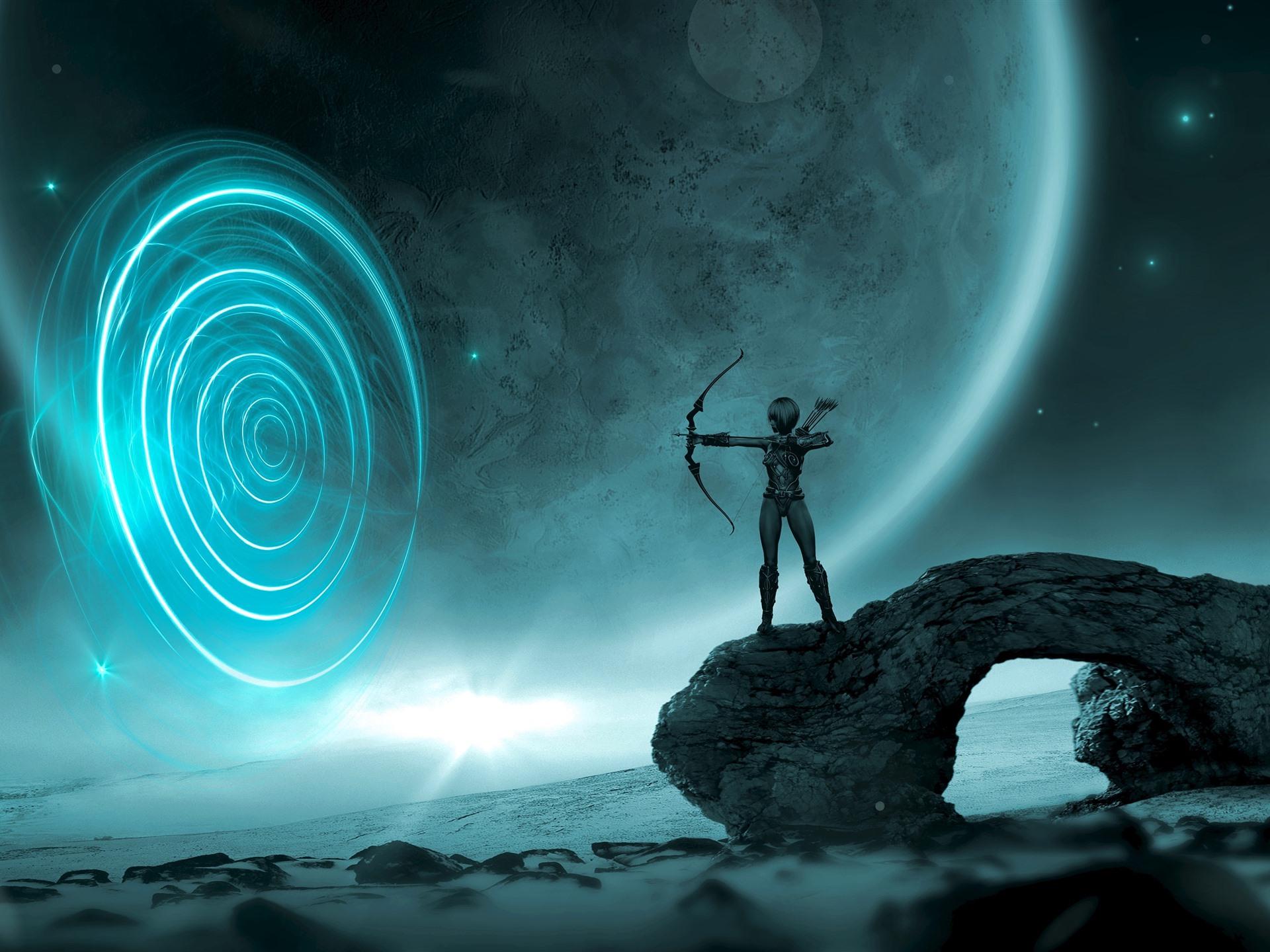 Картинки фэнтези порталы в космосе