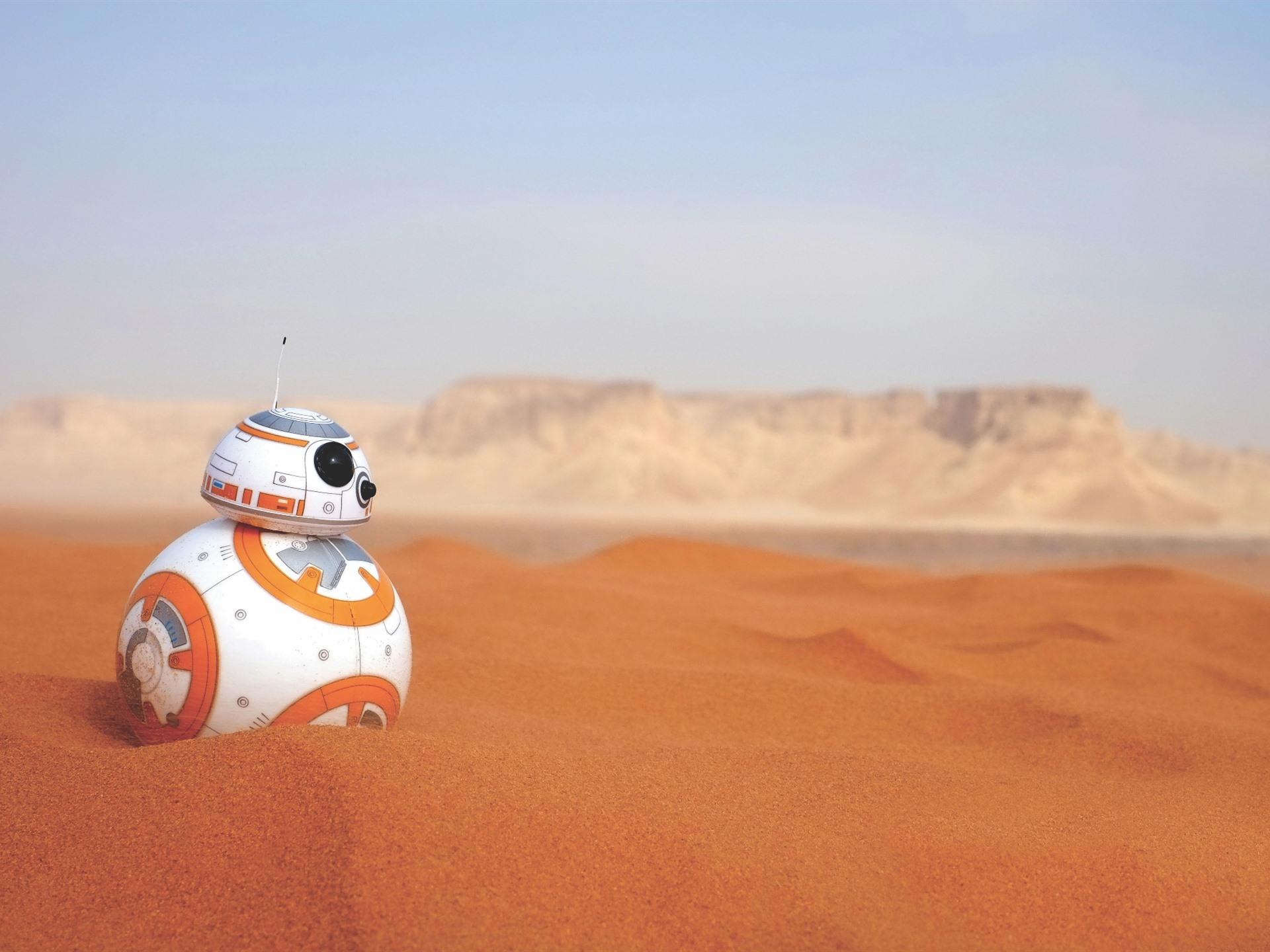 Fondos De Pantalla Robot Bb 8 Desierto Star Wars 1920x1440
