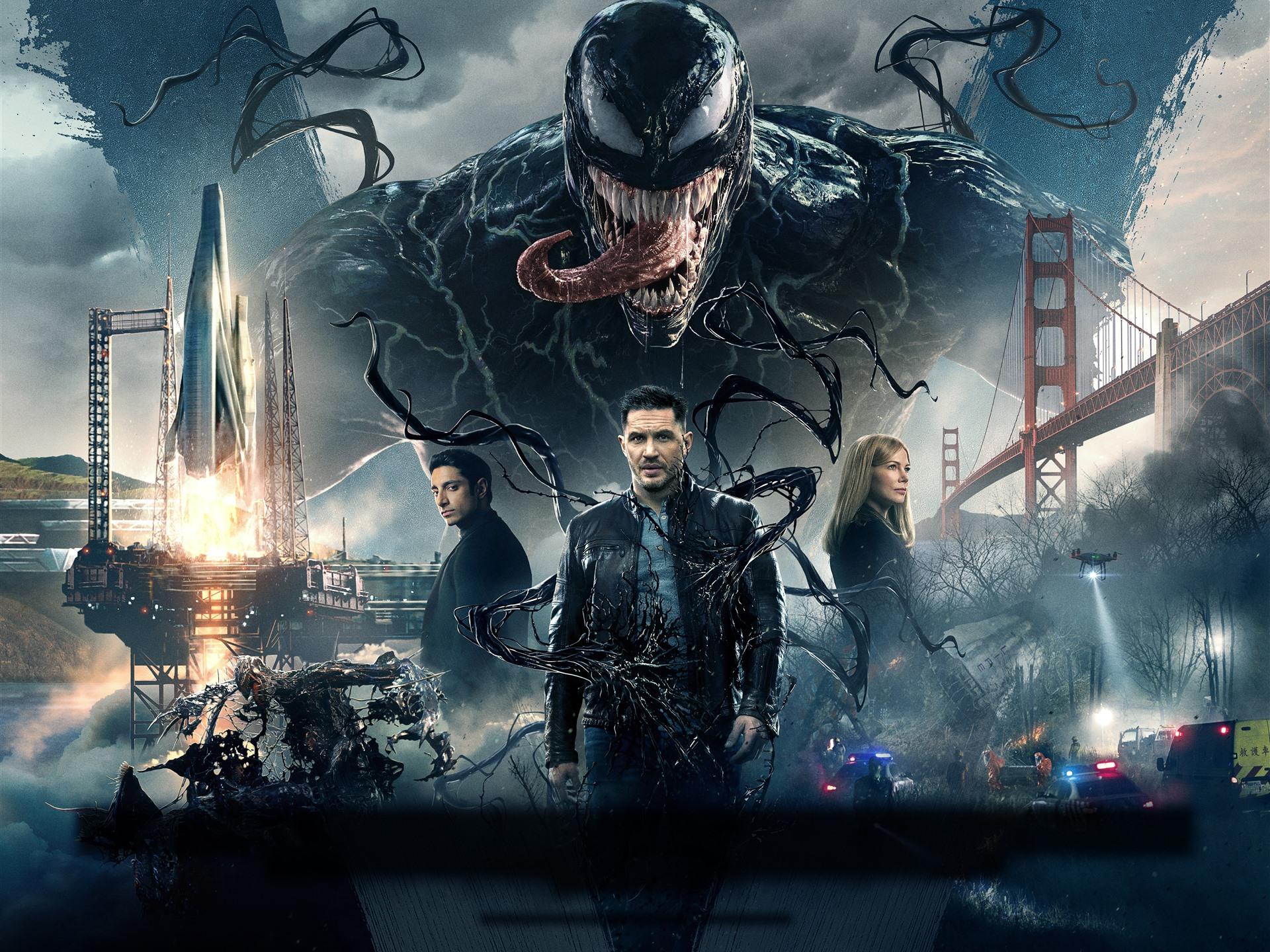 Movie Poster 2019: Venom 2018 Movie 1242x2688 IPhone XS Max Wallpaper