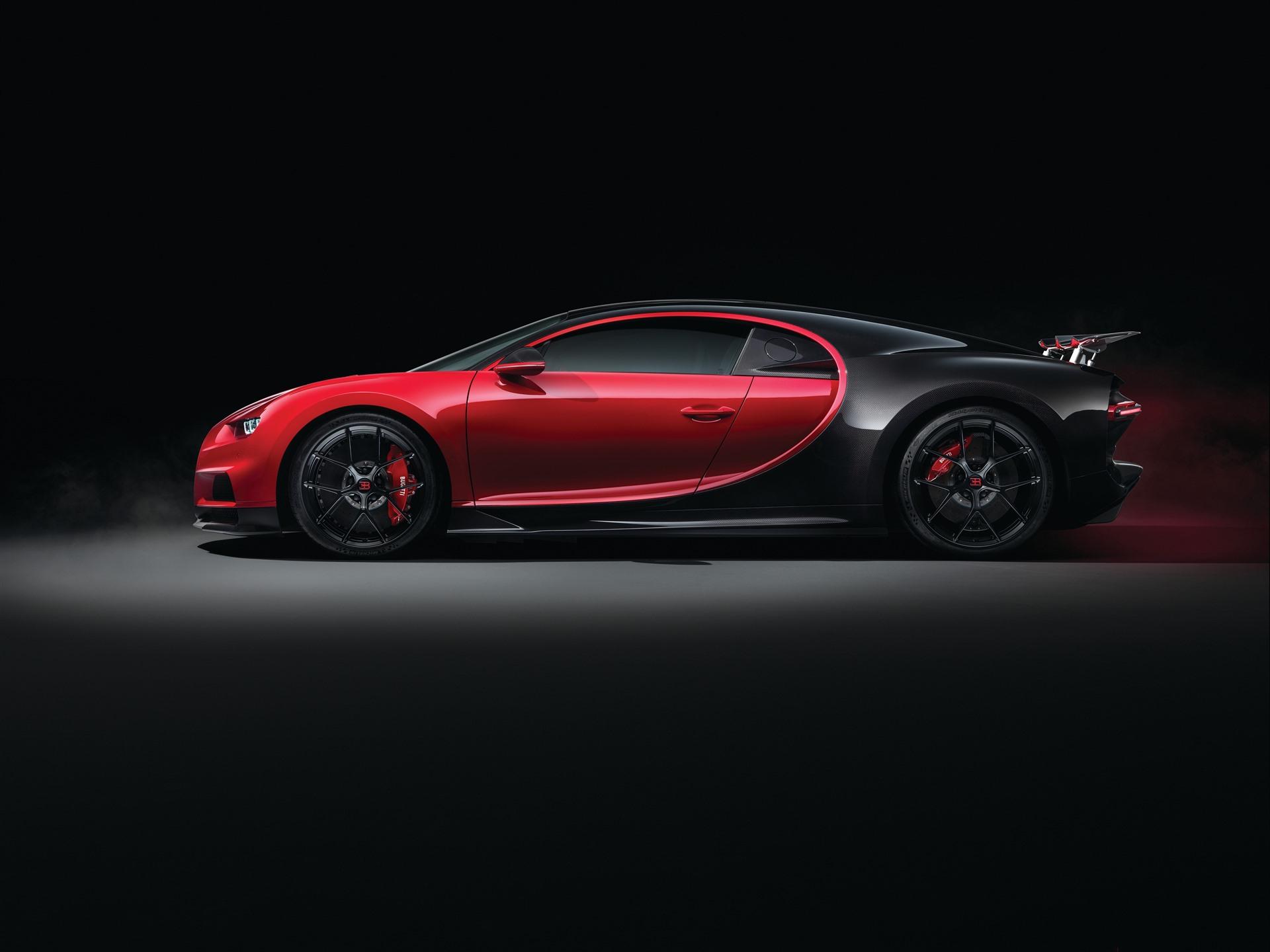 Wallpaper Bugatti Chiron 2018 supercar side view 3840x2160 ...