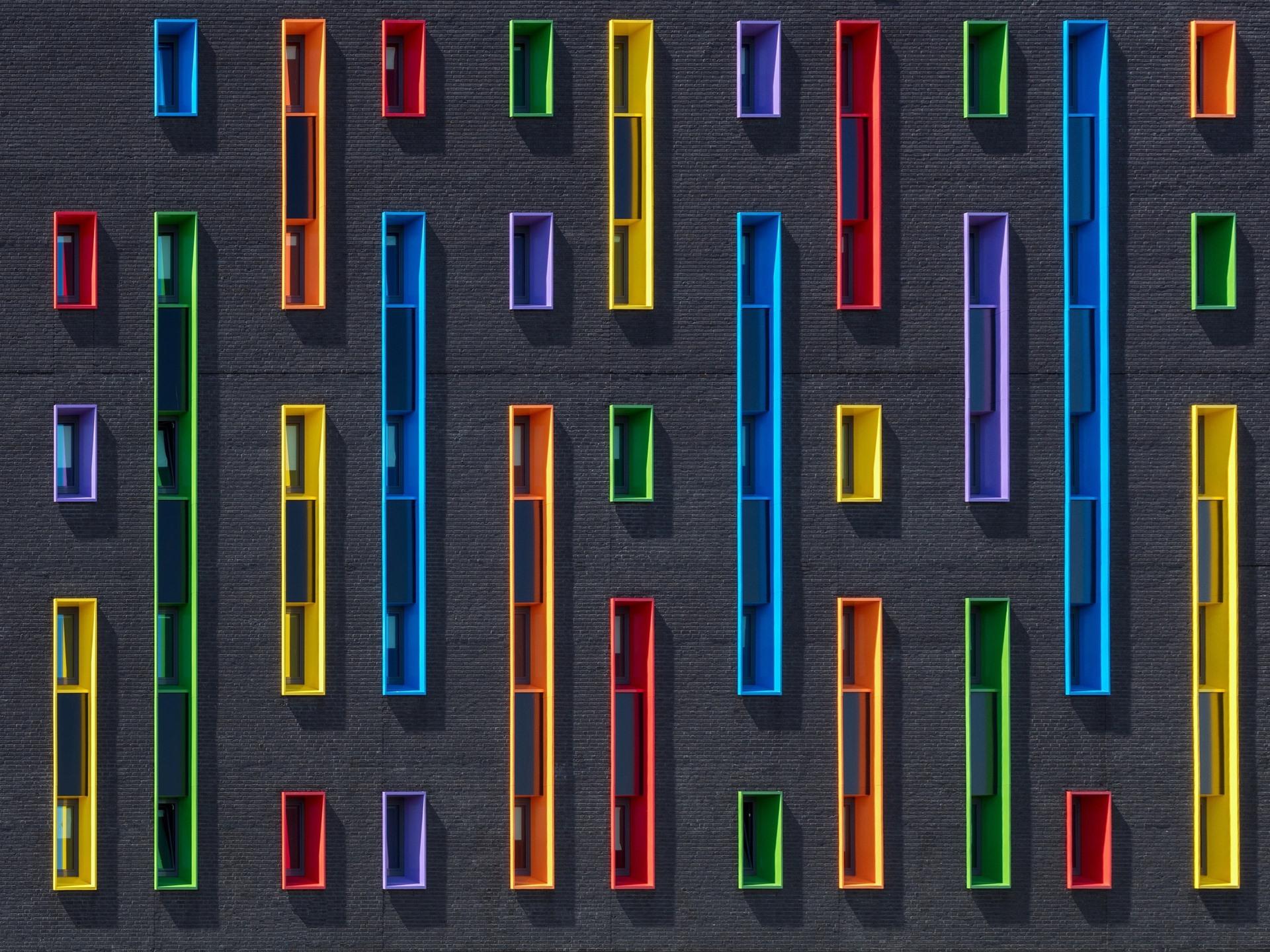 壁紙 壁 カラフルな窓 1920x1440 Hd 無料のデスクトップの背景 画像
