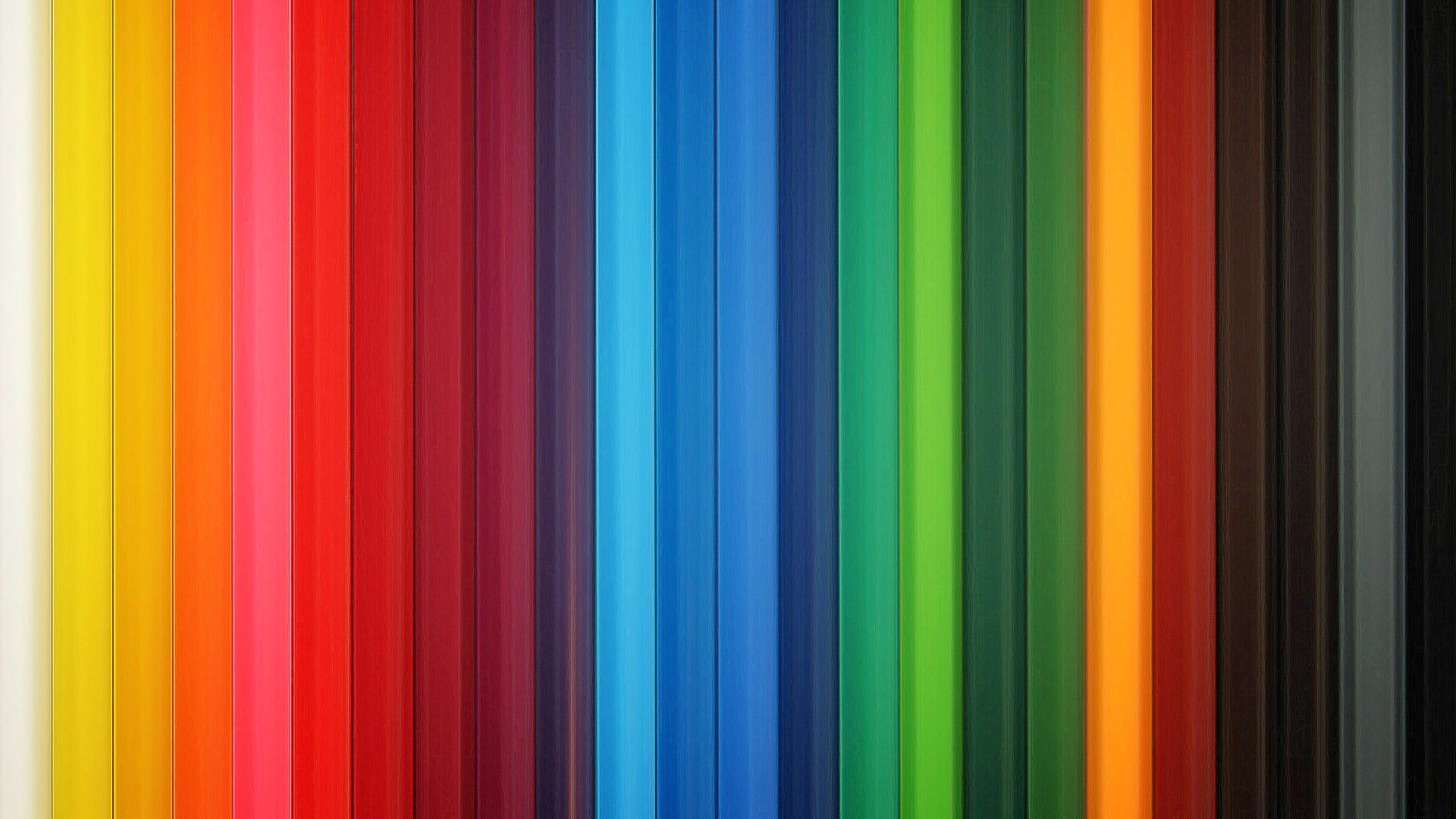 下载壁纸 2560x1440 QHD高清 24种颜色的背景 桌面背景