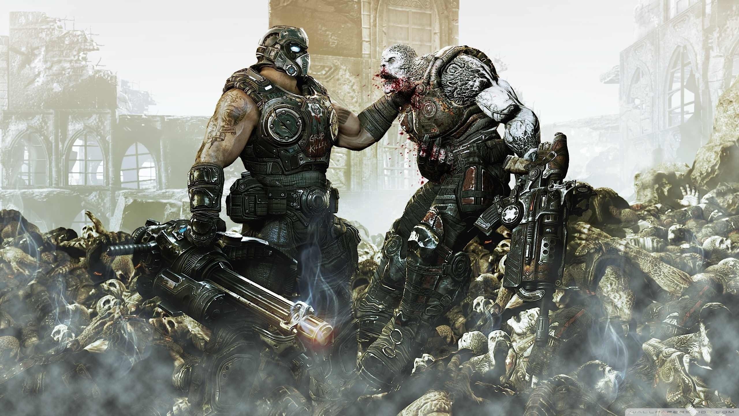 Fondos De Pantalla Gears Of War 3 Hd 2560x1440 Qhd Imagen