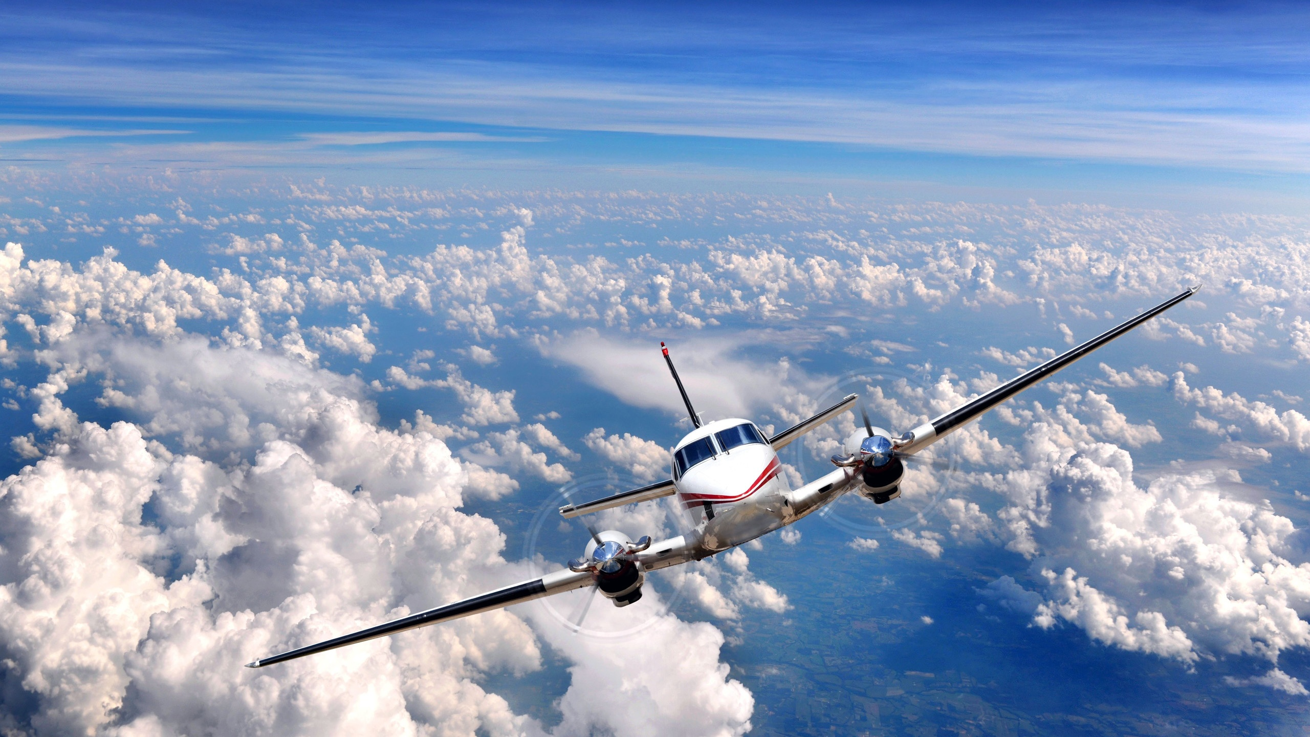 aircraft images in clouds wallpaper - photo #7
