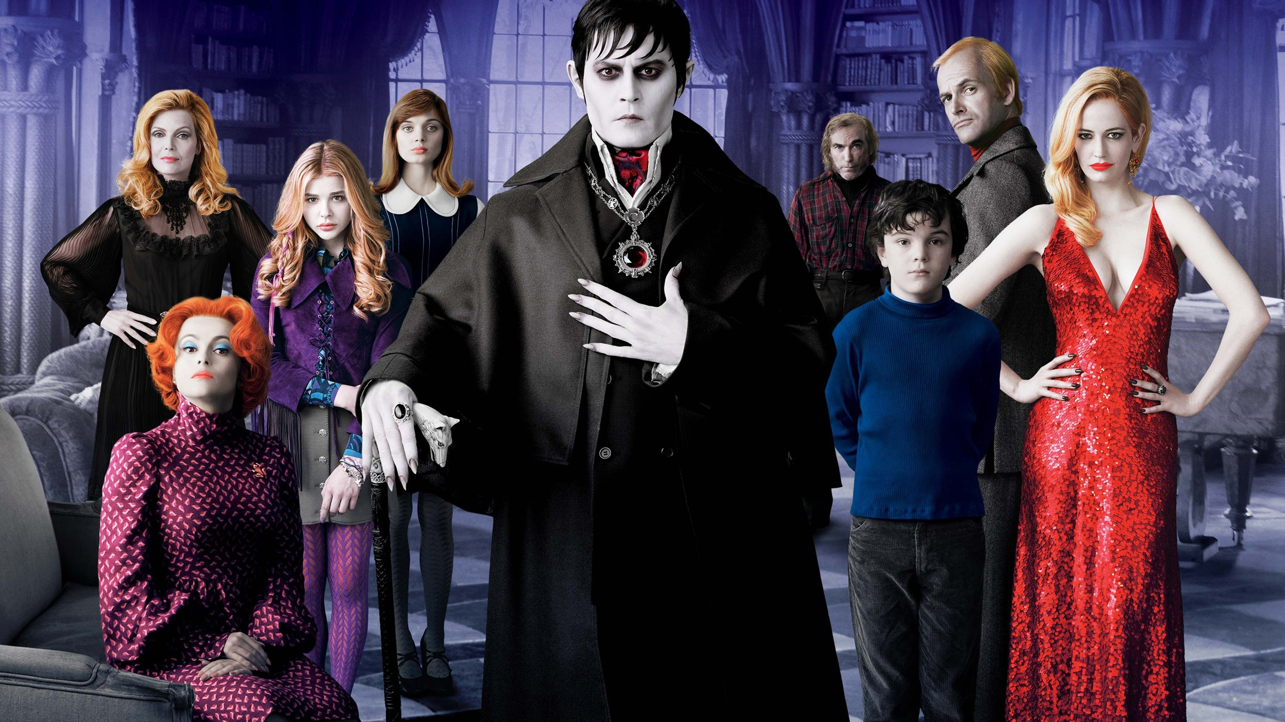 Dark Shadows HD wallpaper - 2560x1440