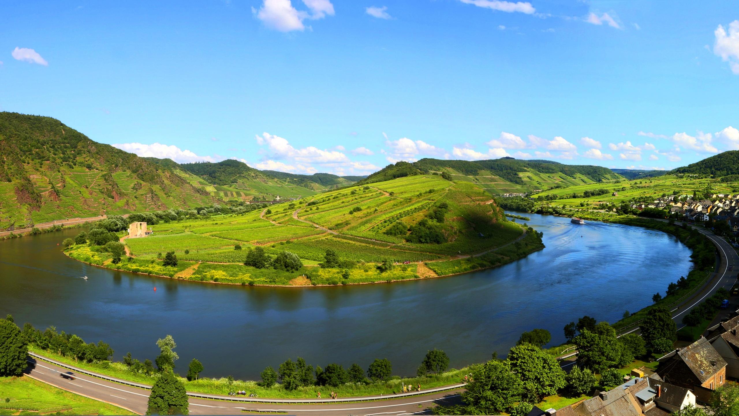 Fonds d 39 cran t l charger 2560x1440 beau paysage en for Fond ecran qhd