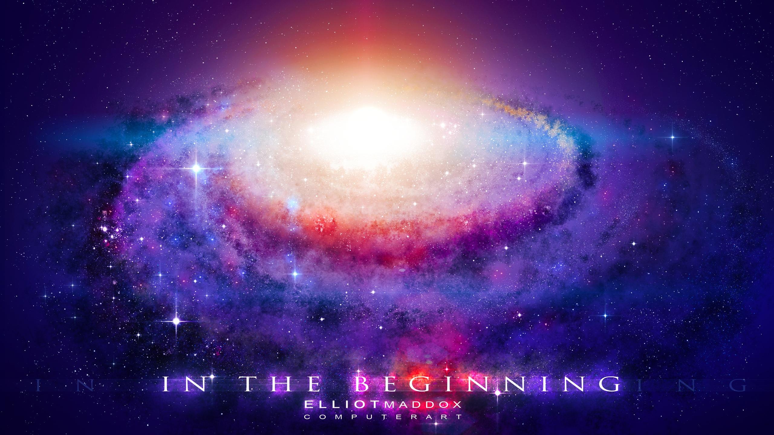 Fonds d 39 cran la puissante nergie du big bang 2560x1440 for Fond ecran qhd