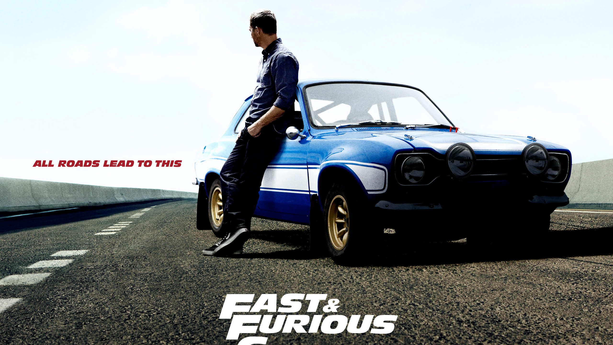Wallpaper Paul Walker In Fast And Furious 6 2560x1600 Hd Picture