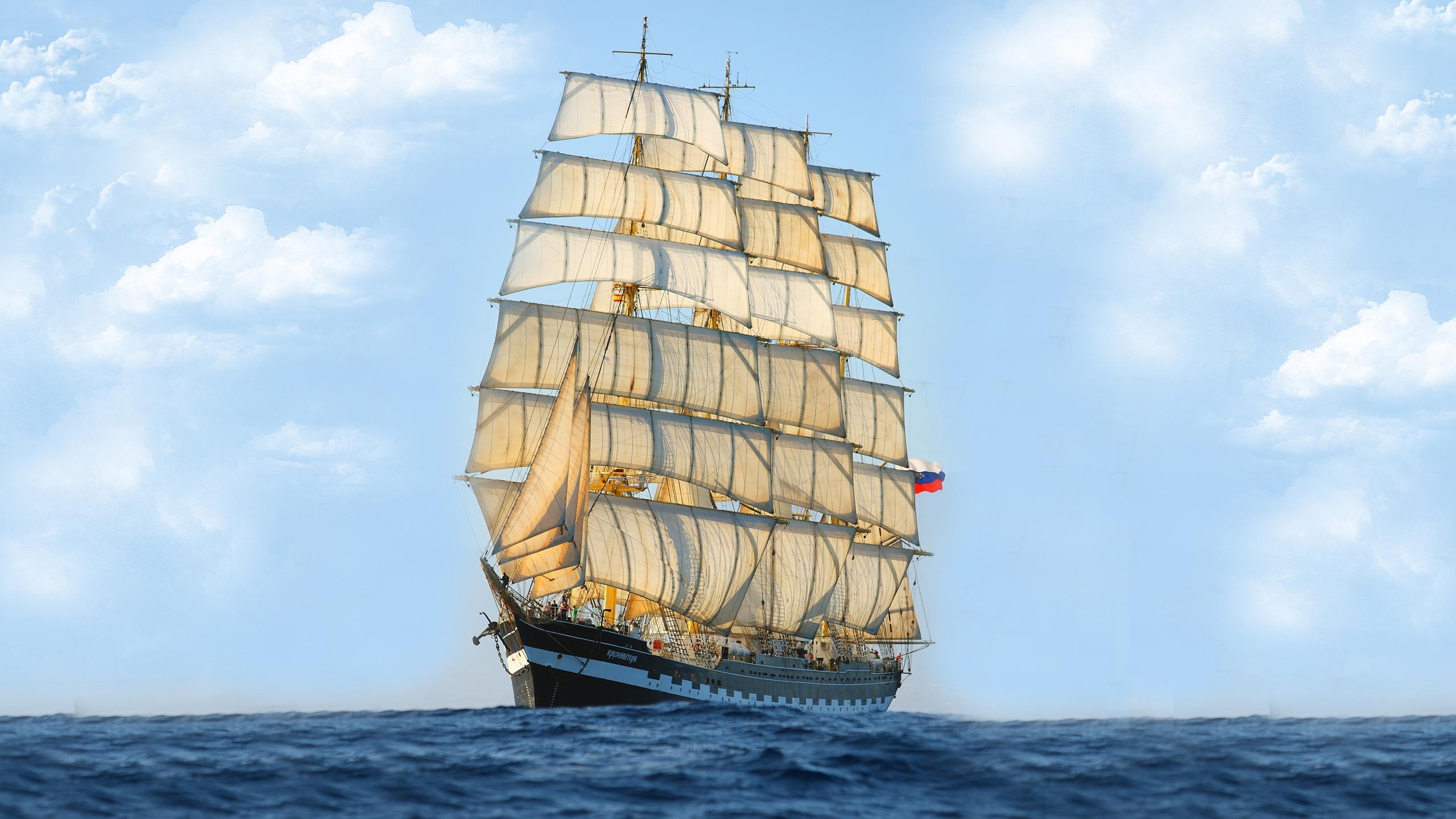 Segelschiffe auf dem meer  Segelschiff, Meer, blauer Himmel Hintergrundbilder | Andere ...