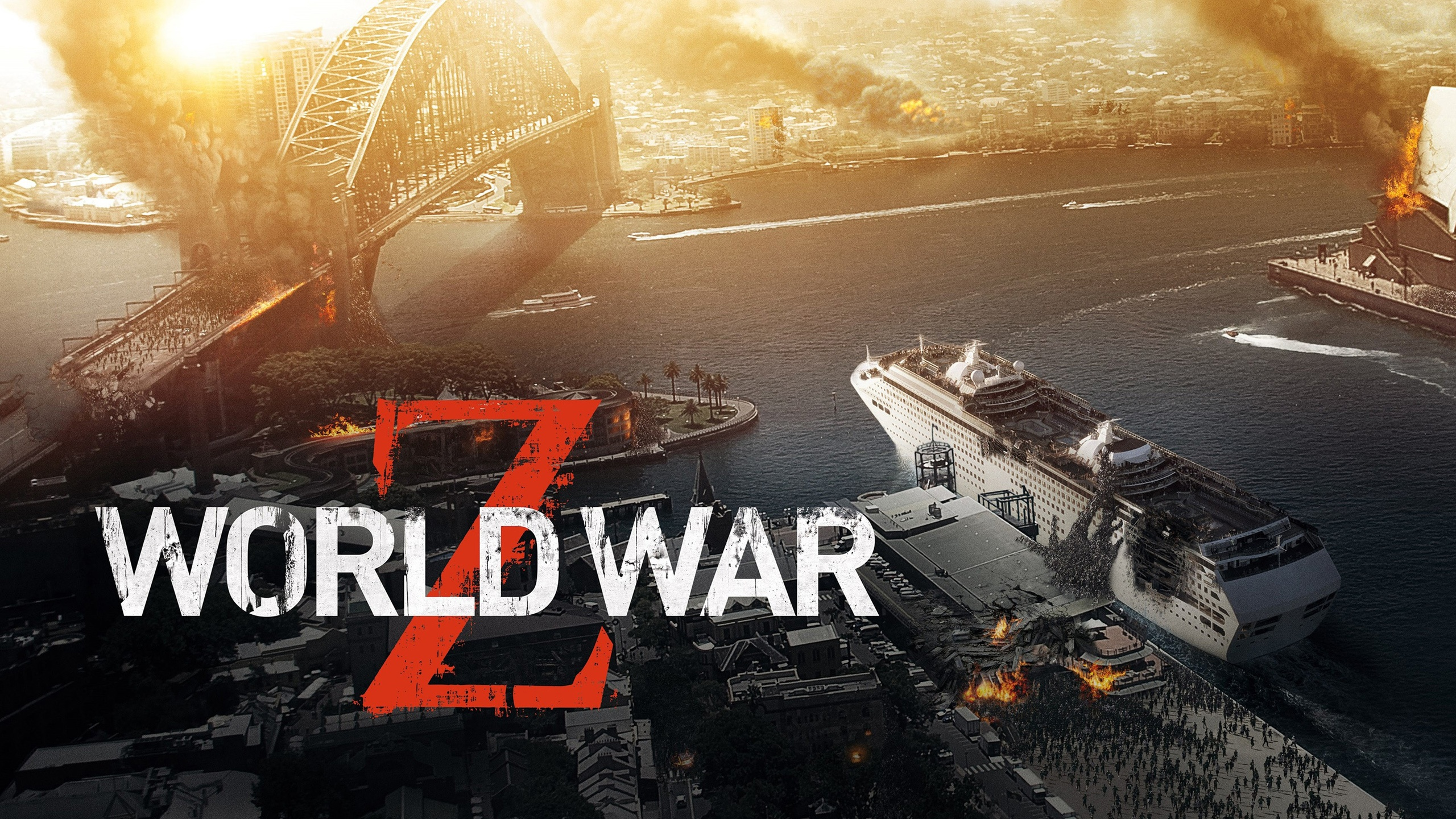 Wallpaper World War Z Zombie Siege 2560x1600 Hd Picture Image