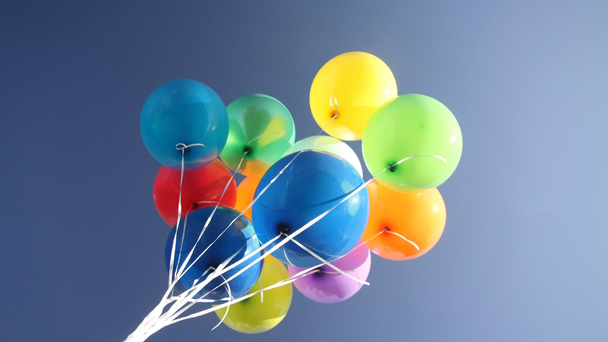 Fonds d 39 cran t l charger 2560x1440 ballons color s fond for Fond ecran qhd