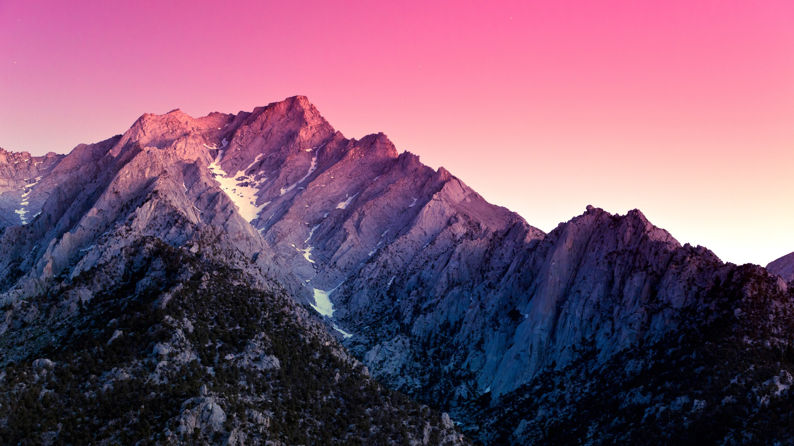 pink snow mountain wallpaper - photo #6
