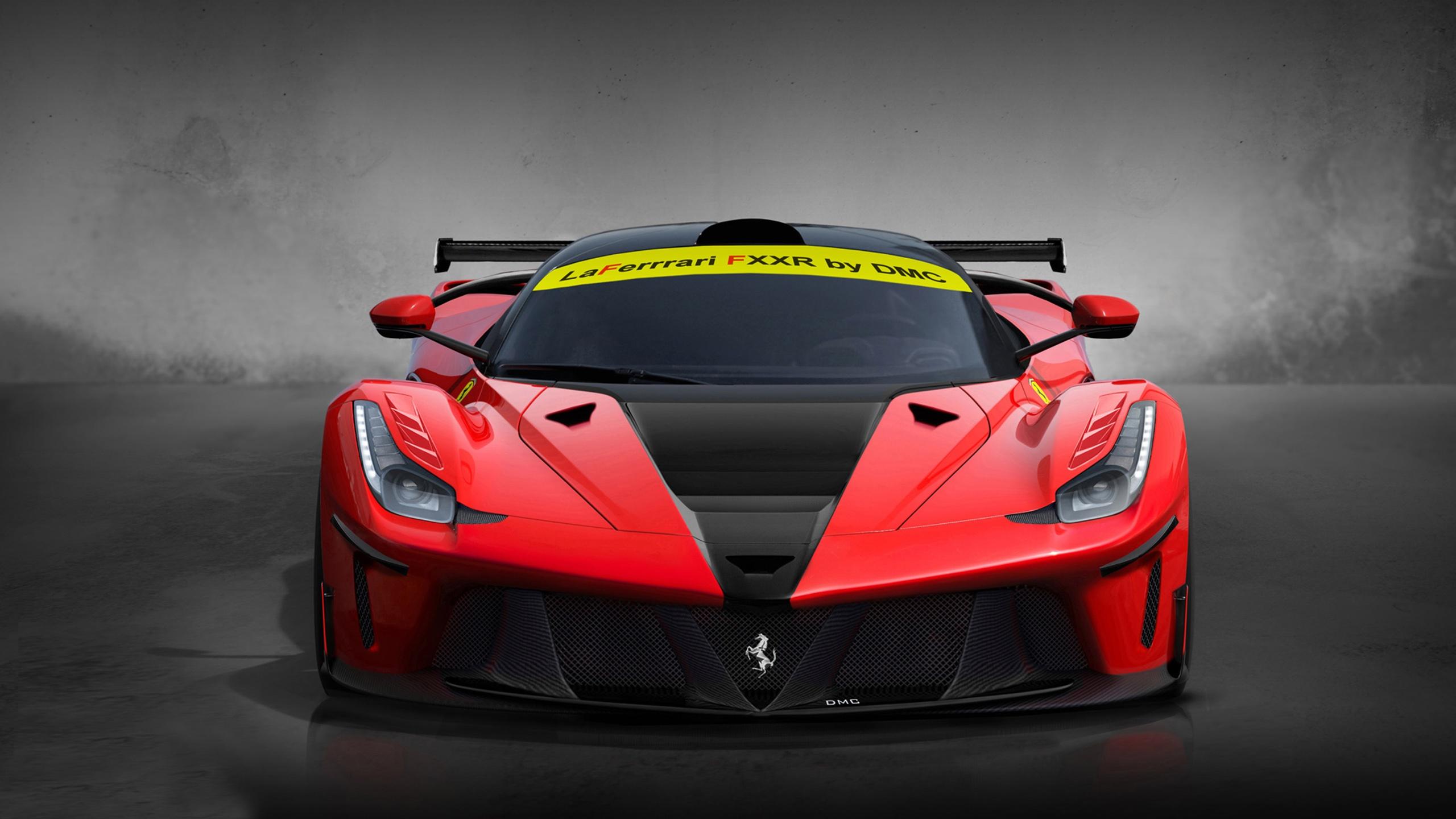 Fonds d 39 cran dmc laferrari fxxr supercar rouge 2560x1440 for Fond ecran qhd