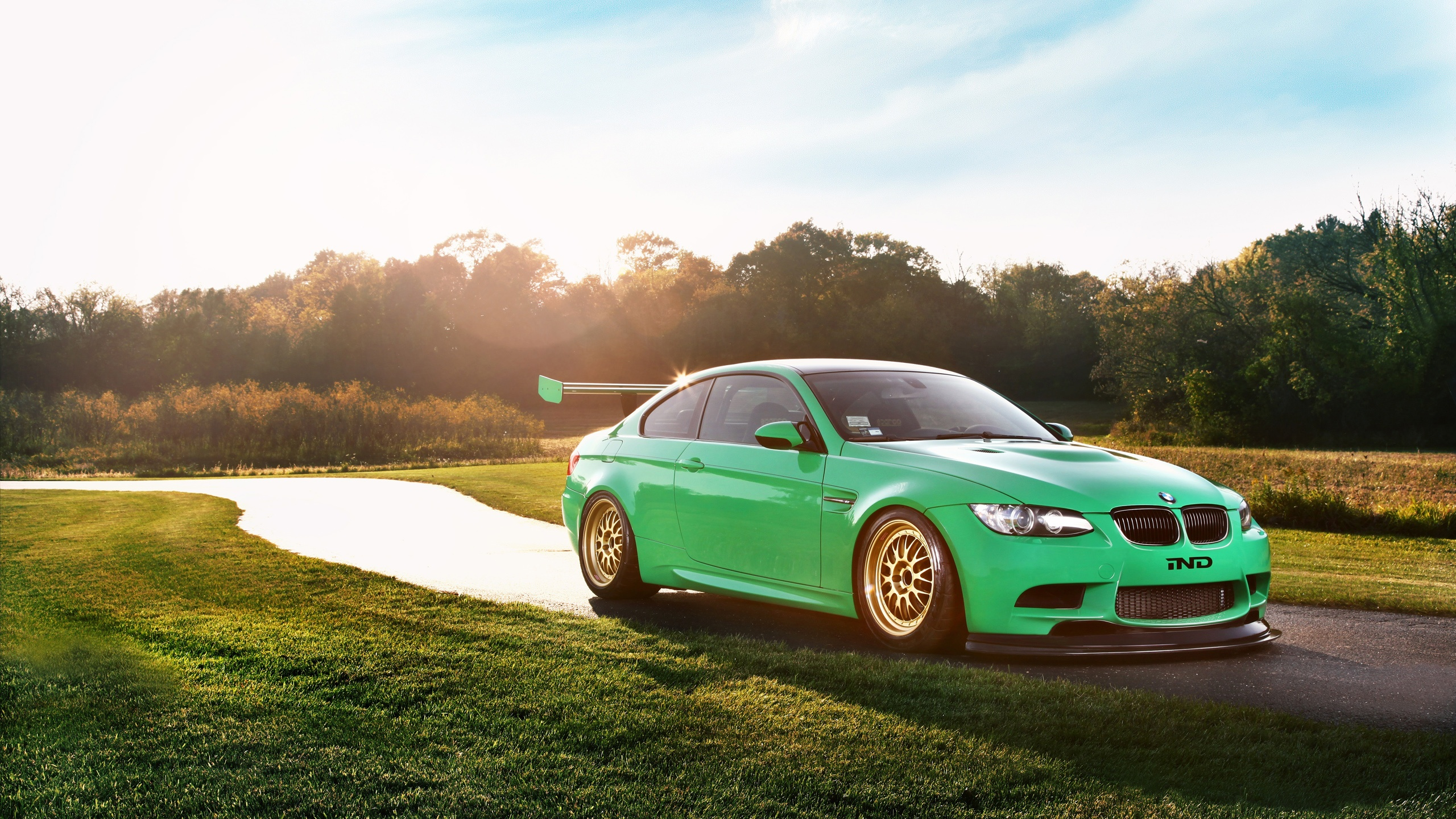 bmw m3 coupe green - photo #16