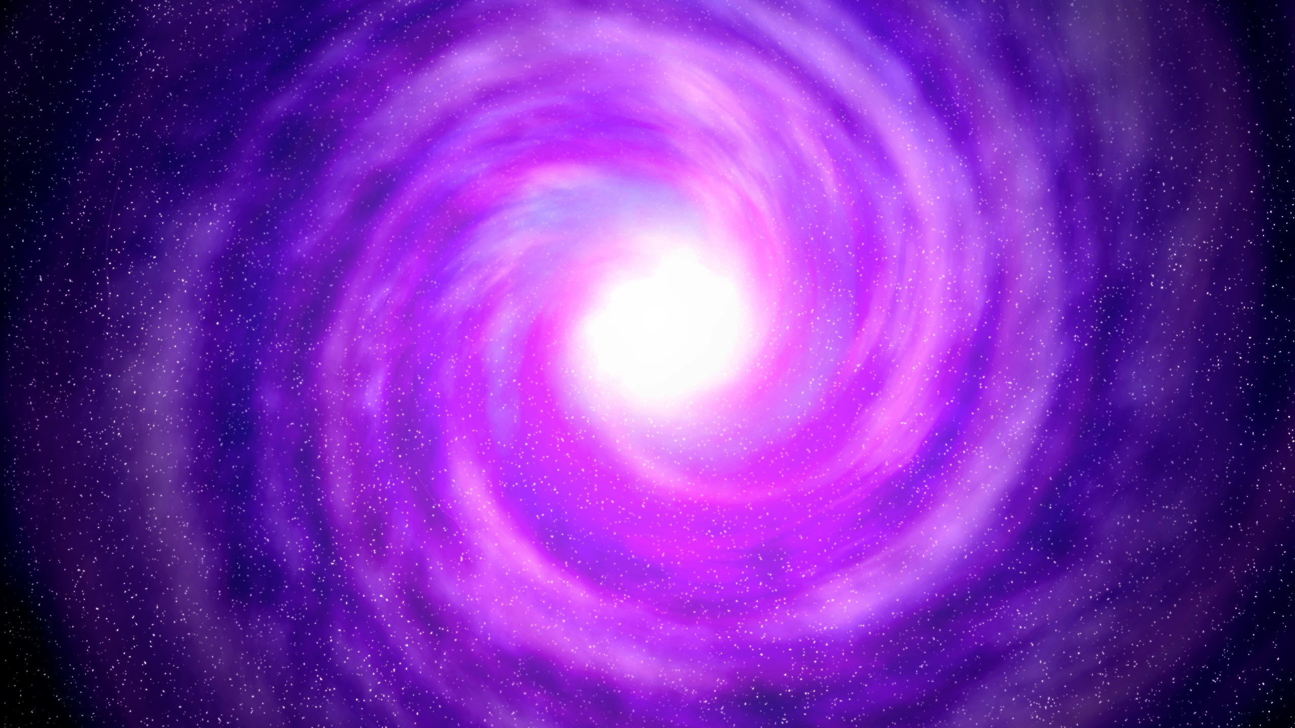 Wallpaper Violet Space Black Hole Stars 2560x1600 Hd