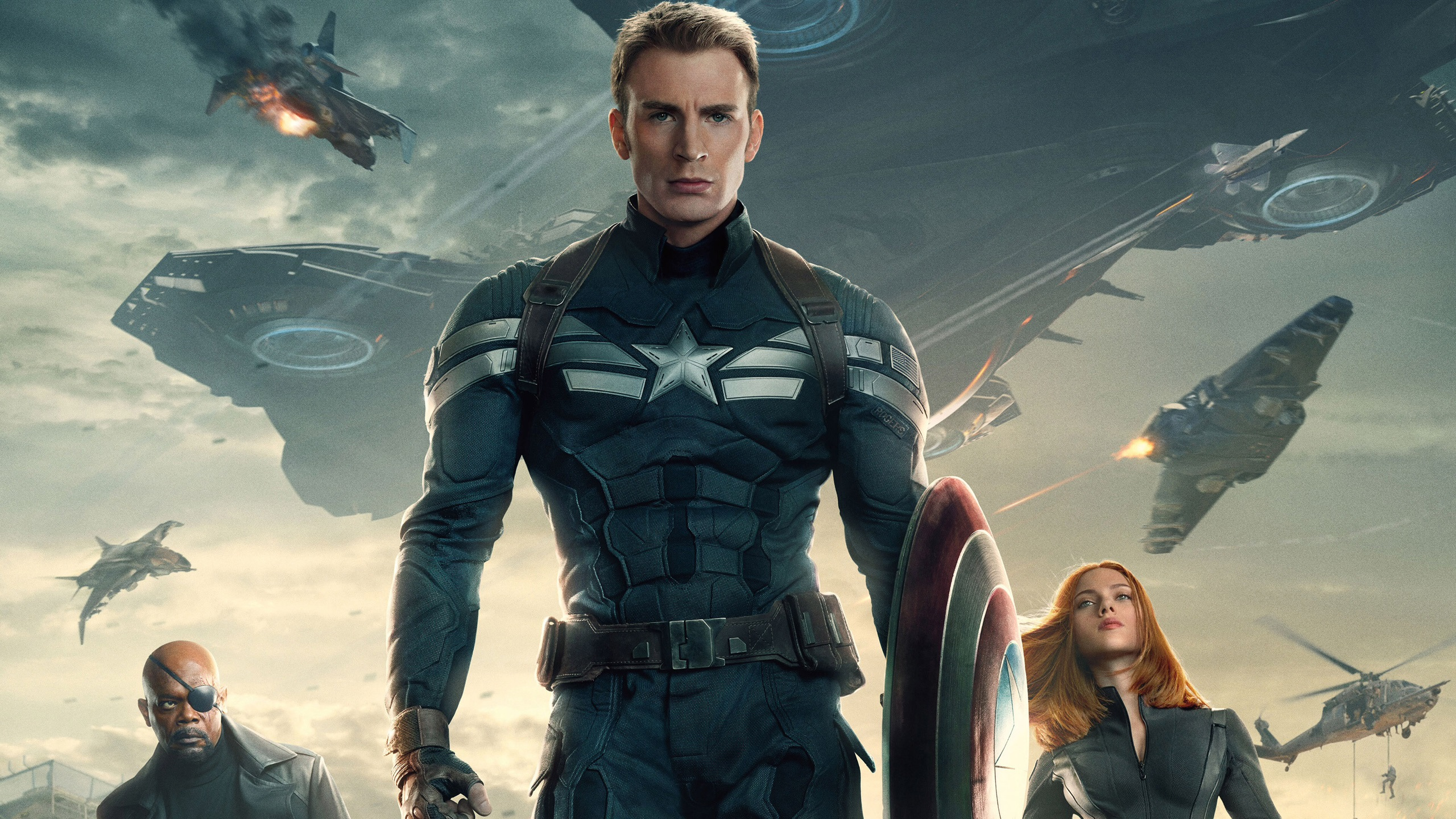 Wallpaper 2014 Captain America The Winter Soldier 2560x1600 Hd