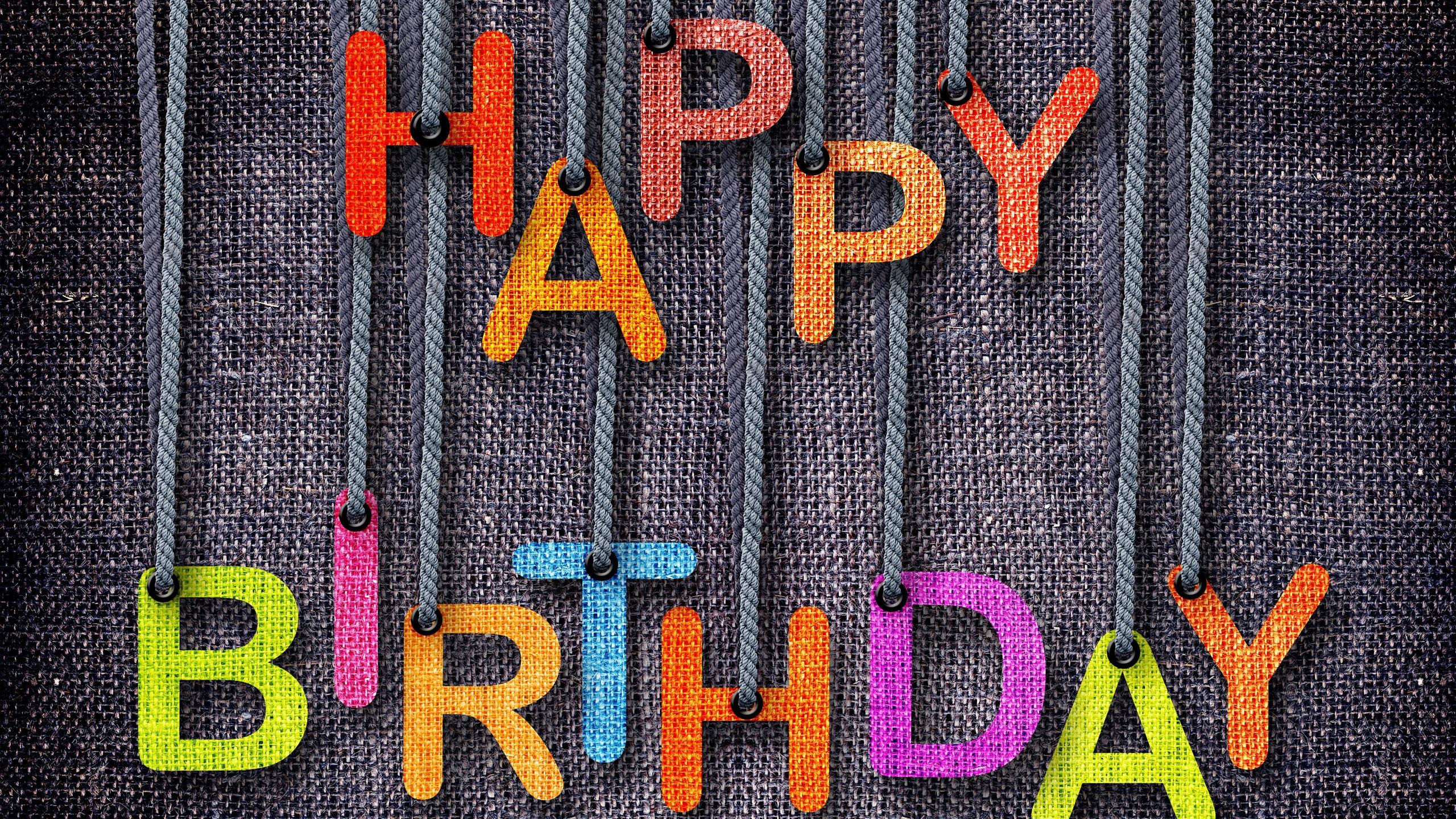 Fonds d 39 cran t l charger 2560x1440 joyeux anniversaire for Fond ecran qhd